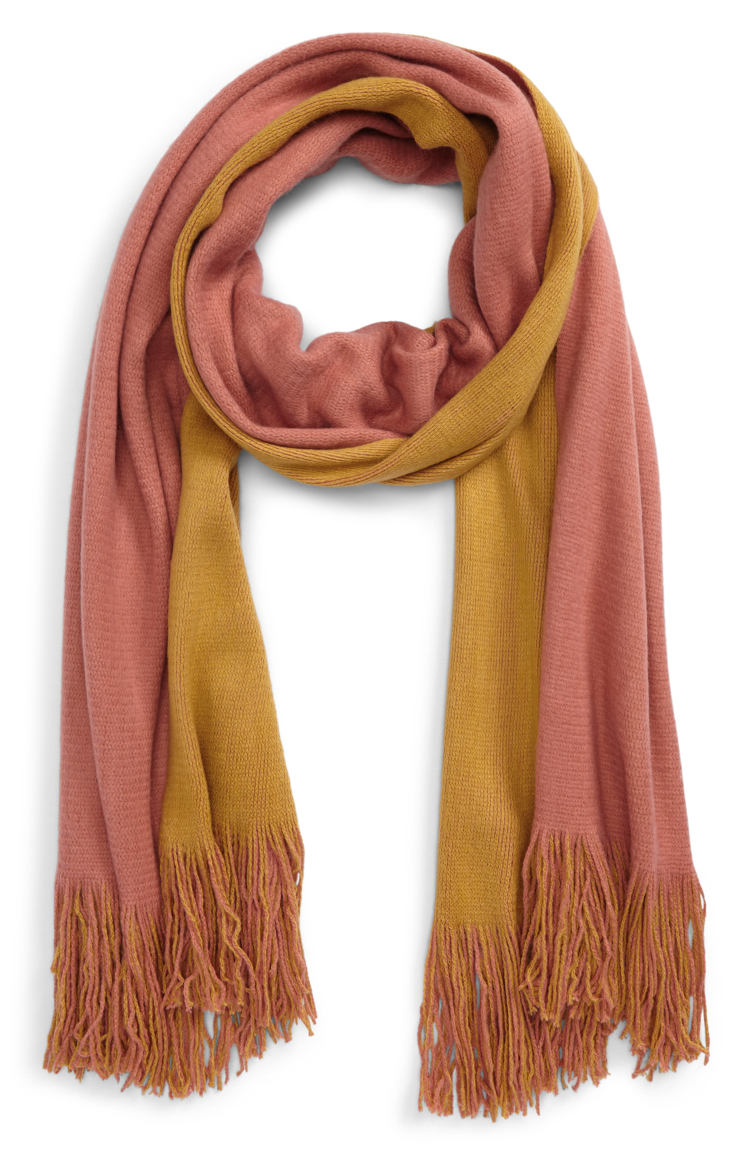 Two-Tone Scarf,                         Main,                         color, 720