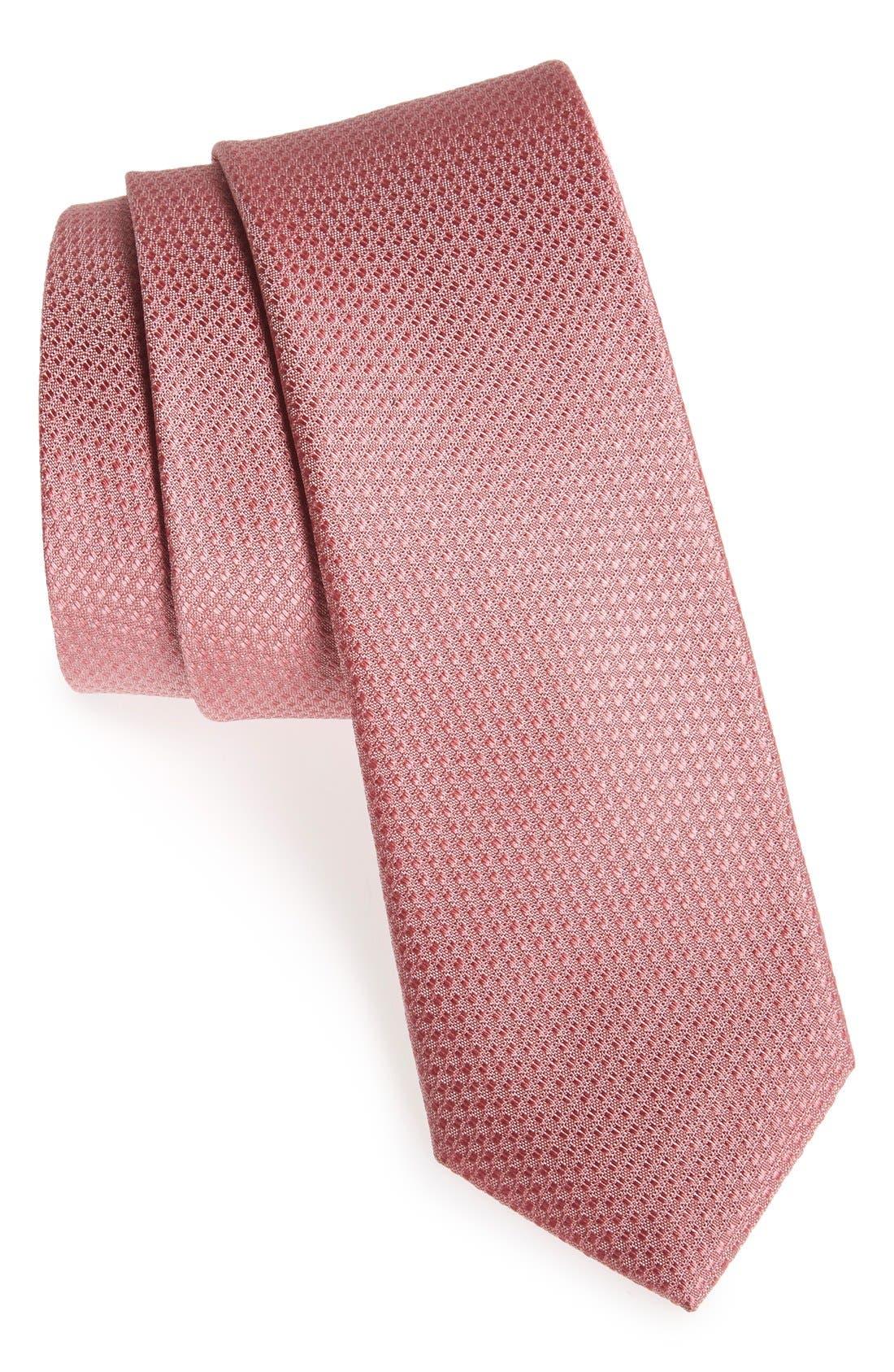 Seattle Textured Silk Tie,                             Main thumbnail 32, color,
