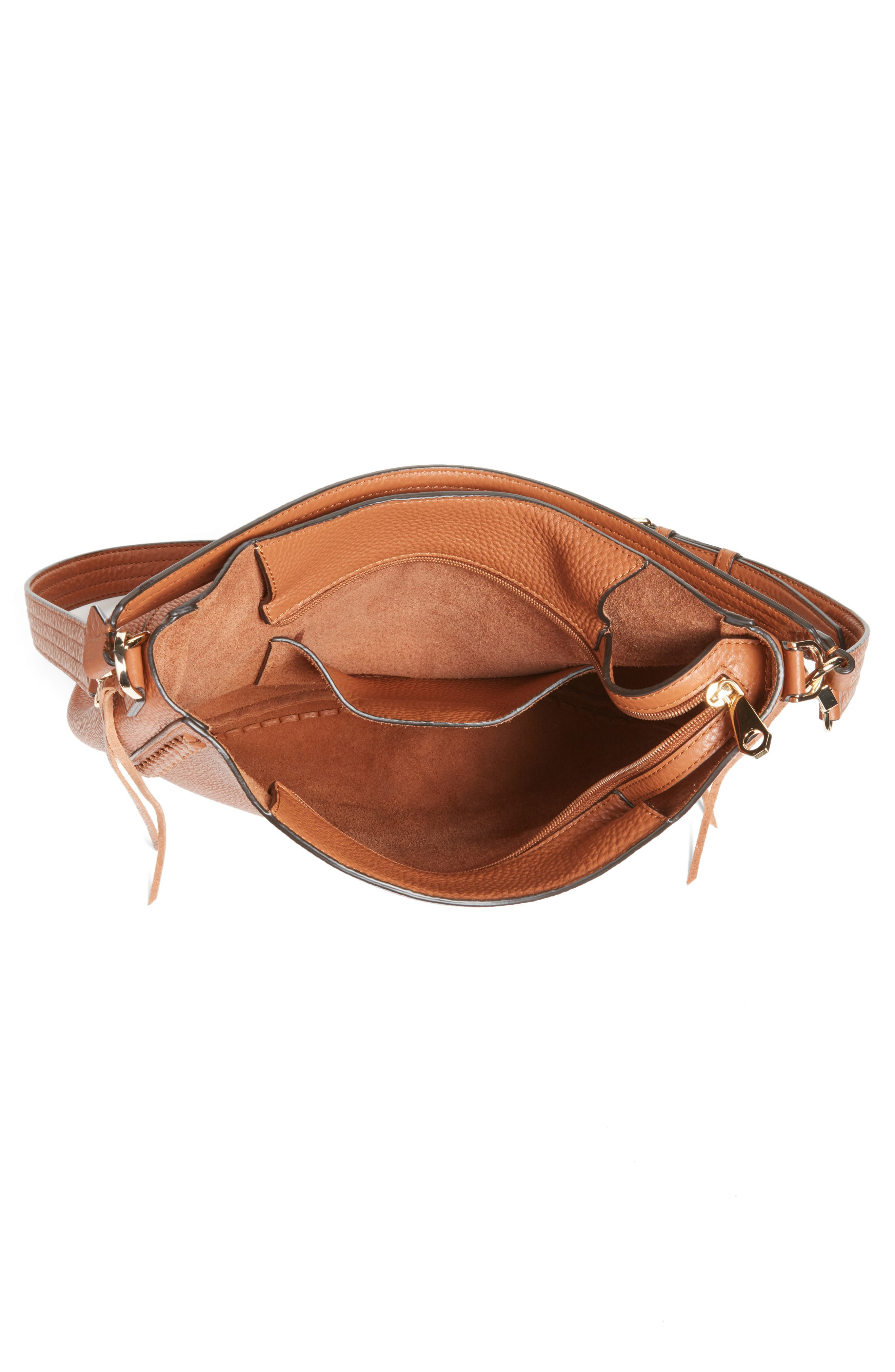 Unlined Convertible Whipstitch Hobo,                             Alternate thumbnail 25, color,