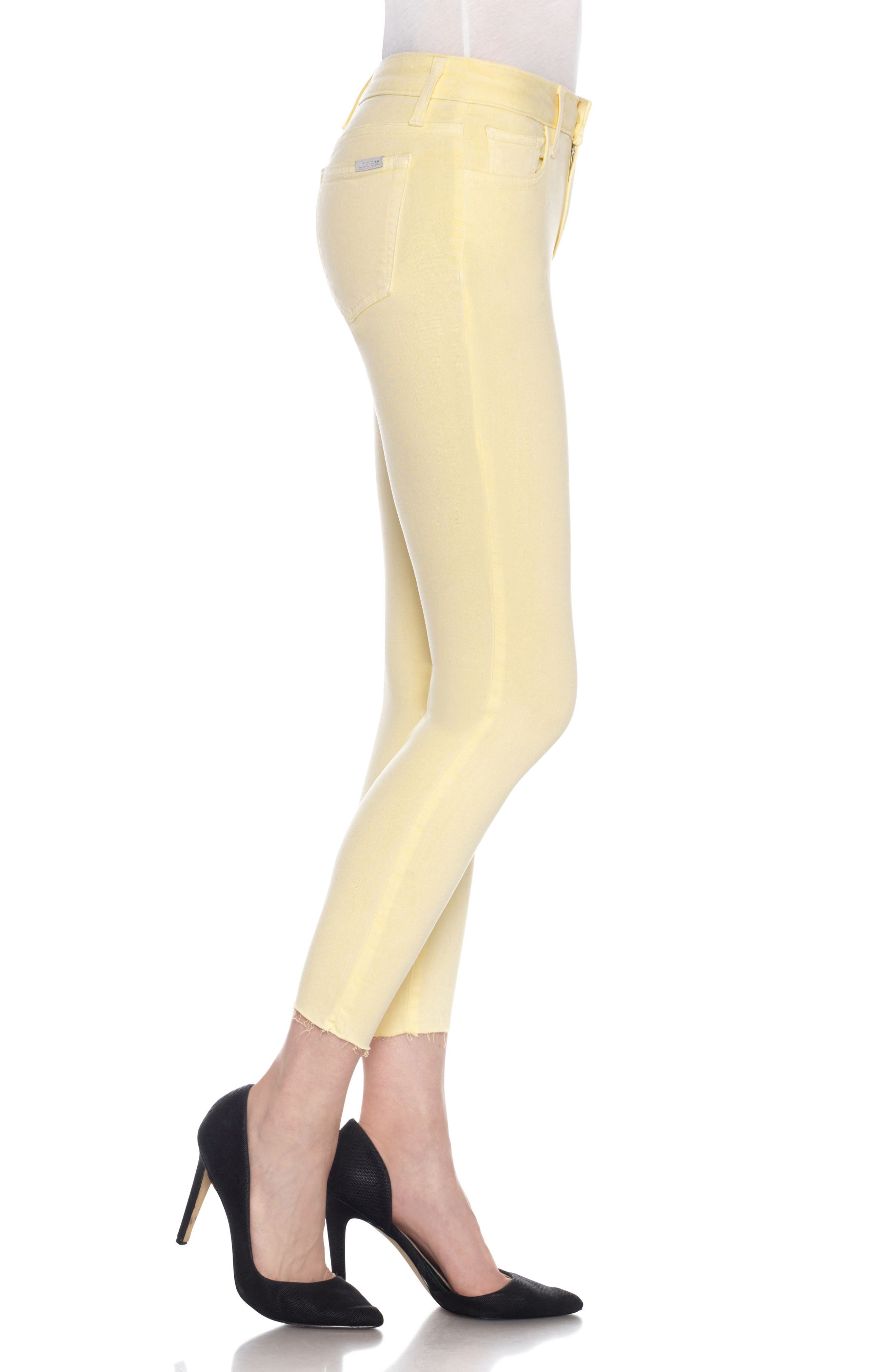 Charlie High Rise Ankle Skinny Jeans,                             Alternate thumbnail 30, color,