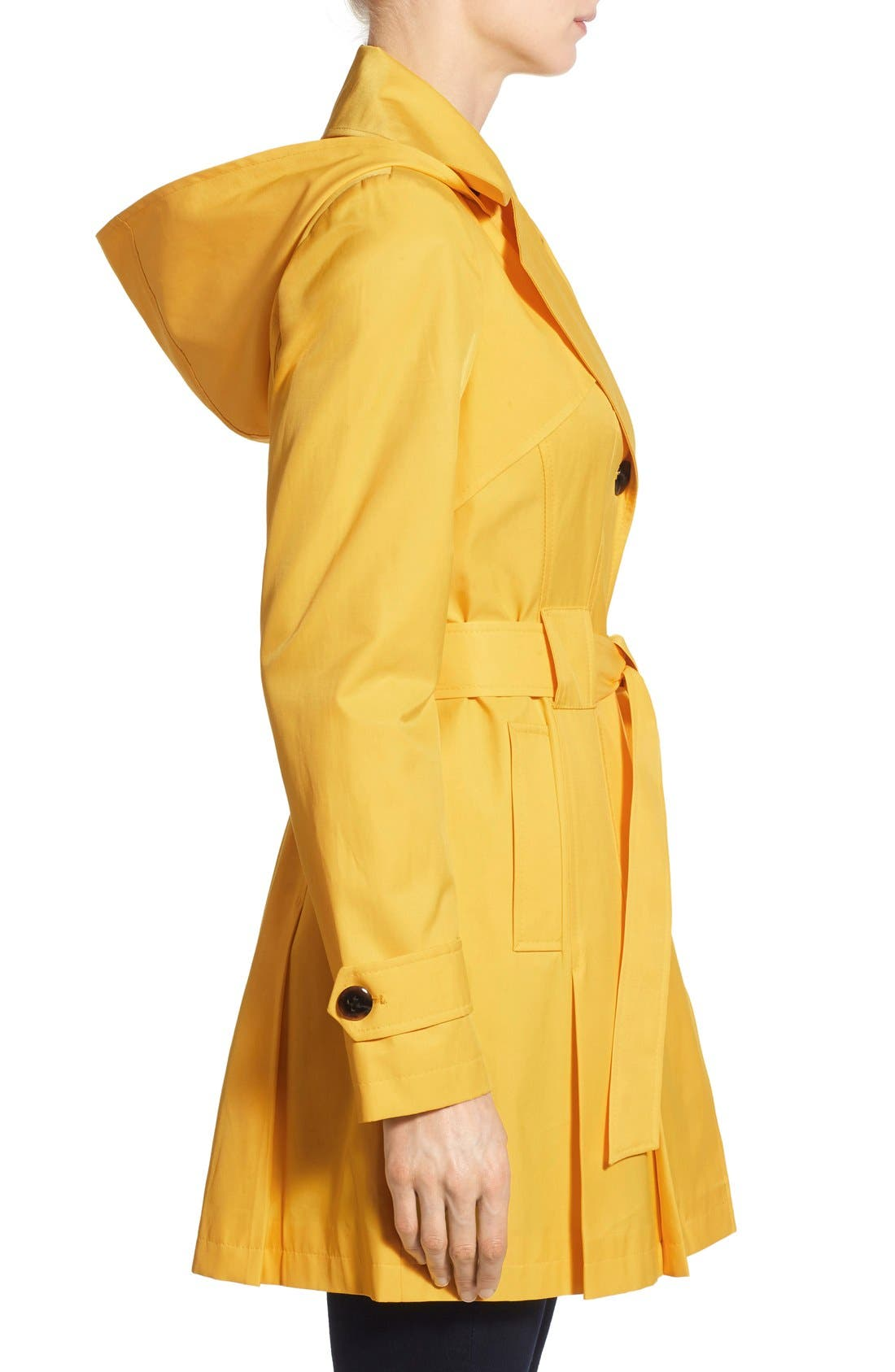 'Scarpa' Hooded Single Breasted Trench Coat,                             Alternate thumbnail 40, color,