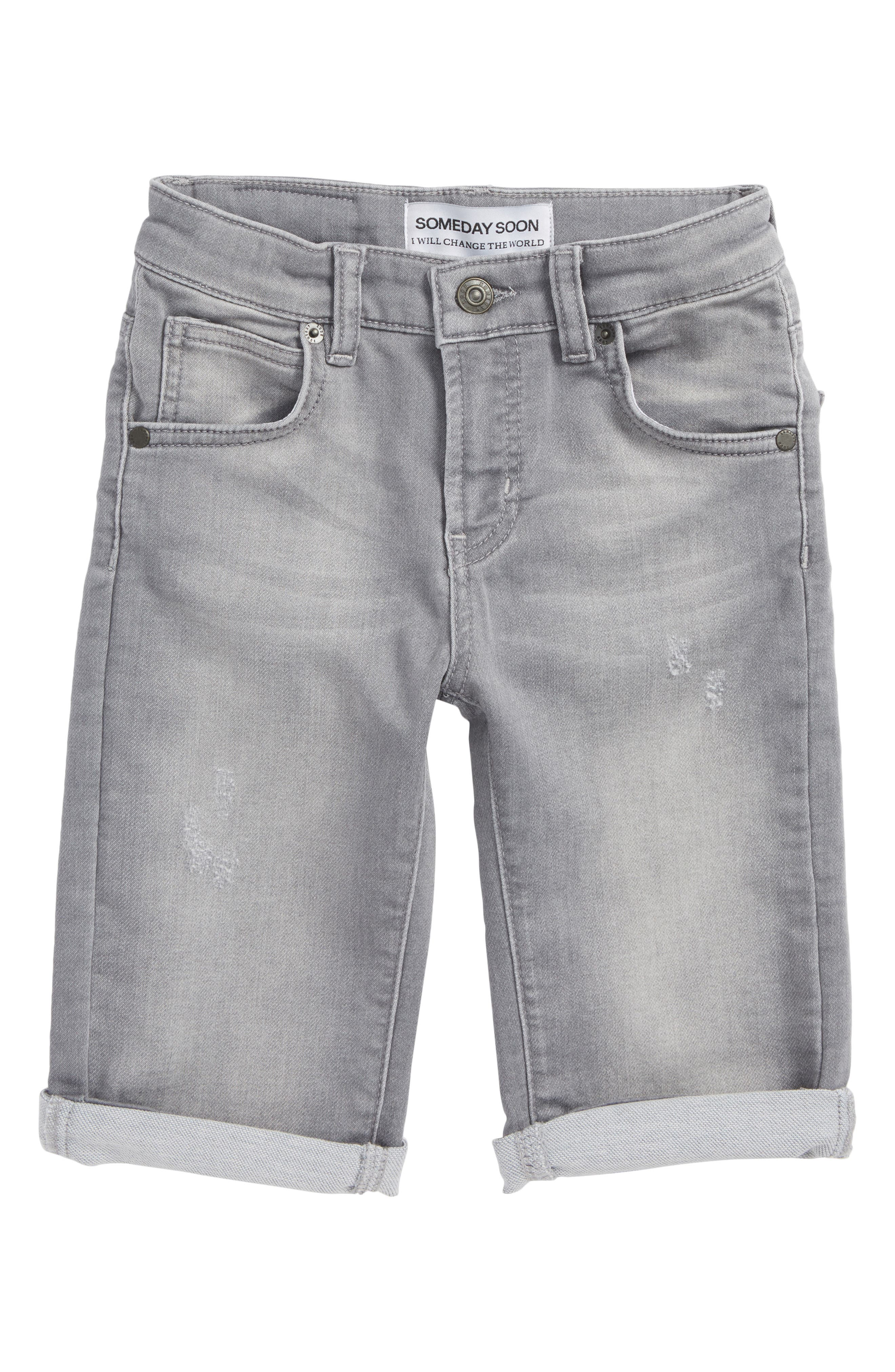 Carl Denim Shorts,                             Main thumbnail 1, color,                             020