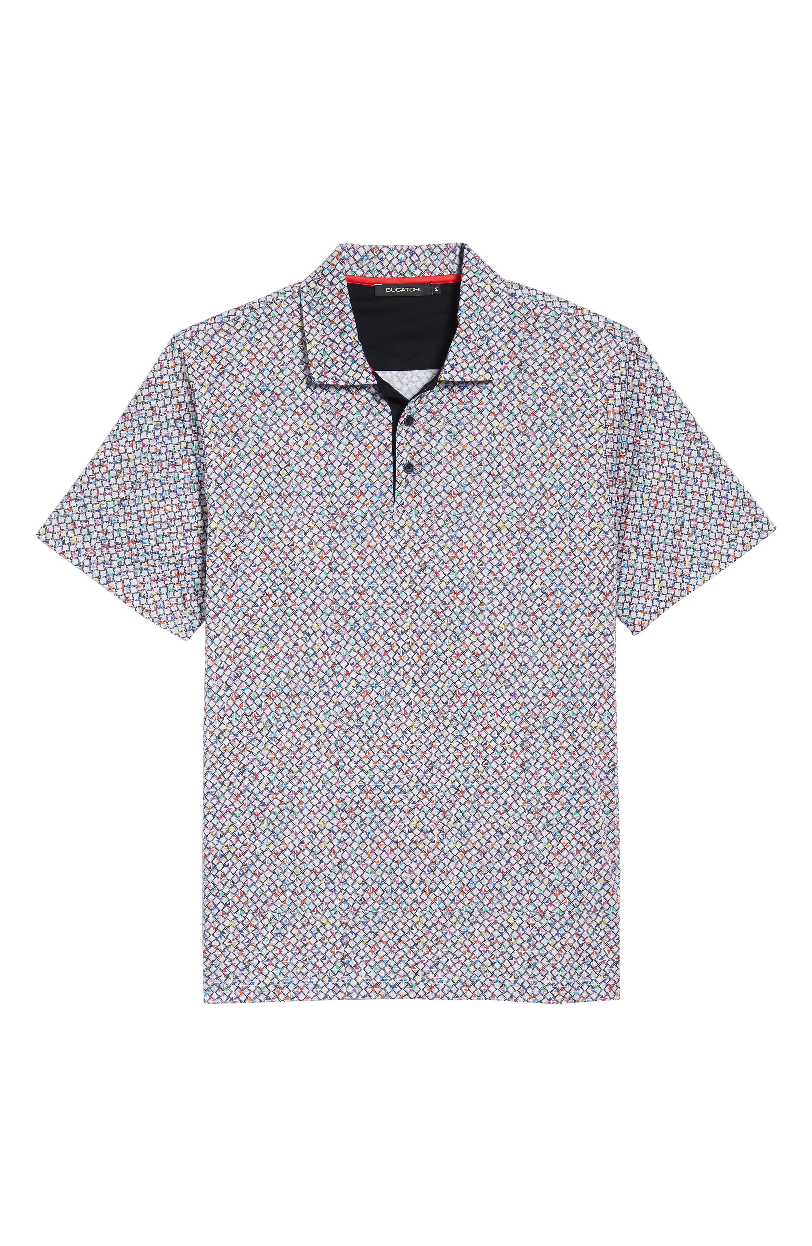 Regular Fit Knit Polo,                             Alternate thumbnail 6, color,                             021