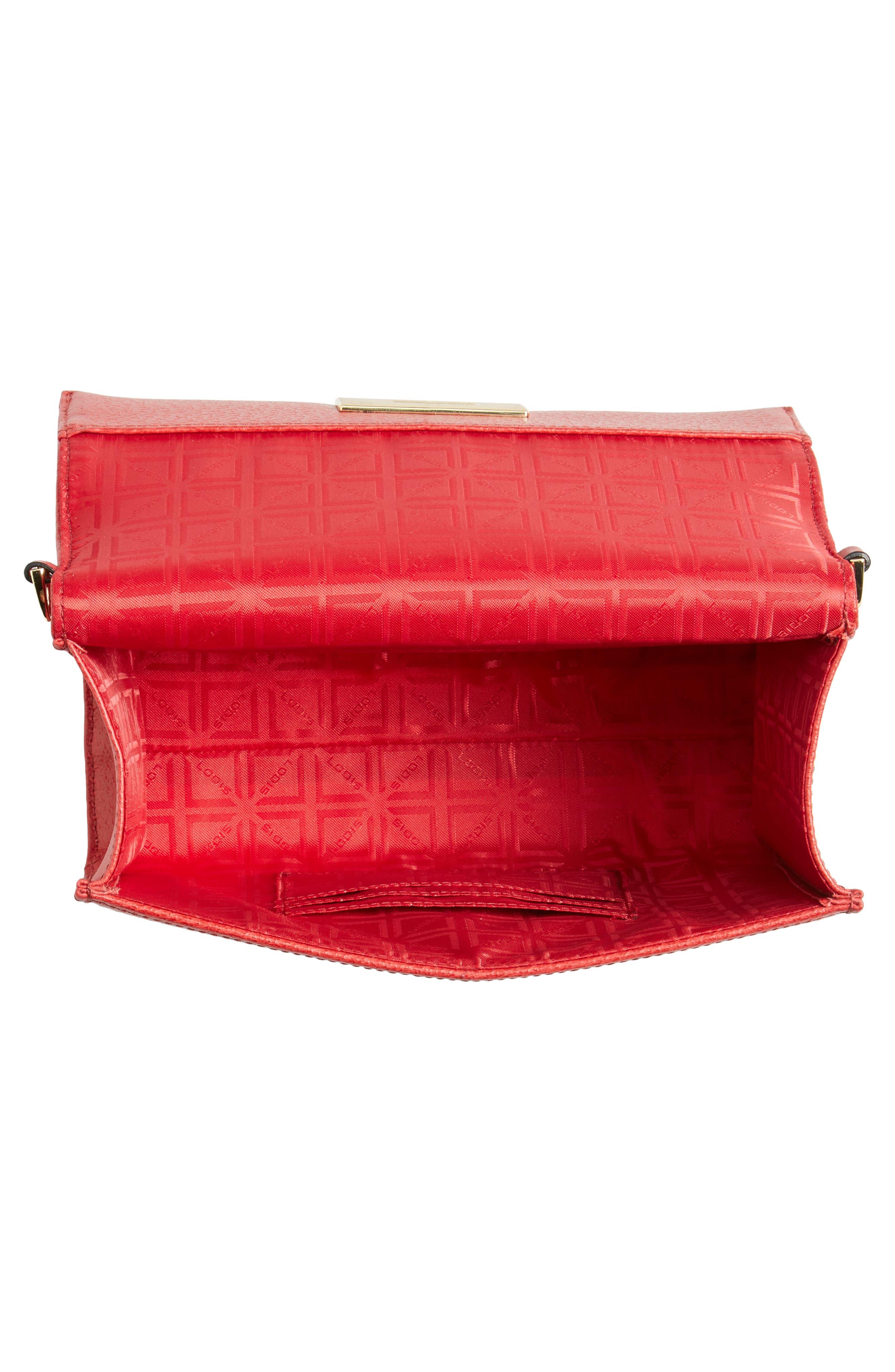 LODIS Stephanie Under Lock & Key - Small Eden Leather Crossbody Bag,                             Alternate thumbnail 4, color,                             600