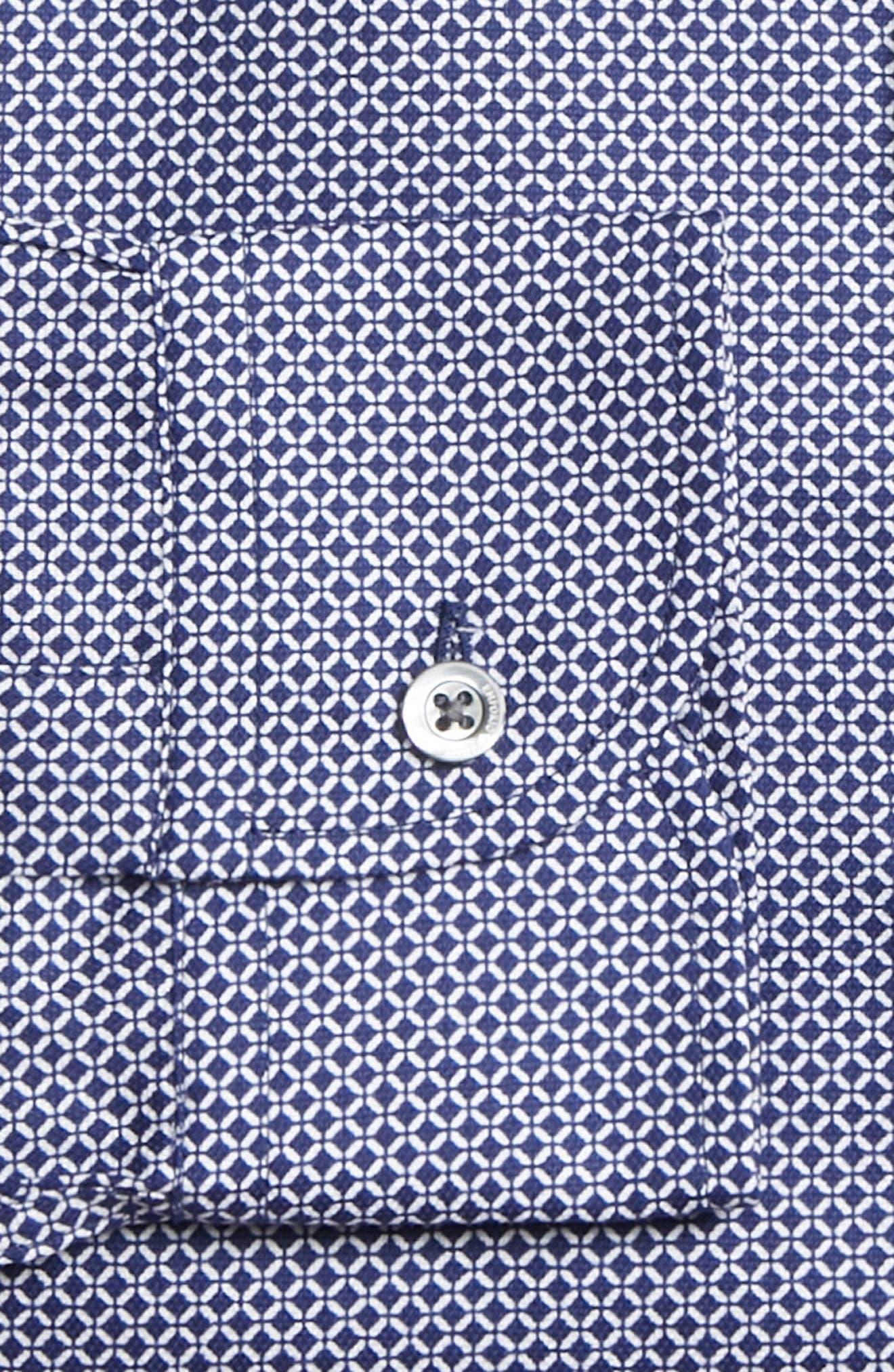 Regular Fit Sport Shirt,                             Alternate thumbnail 7, color,                             BLUE