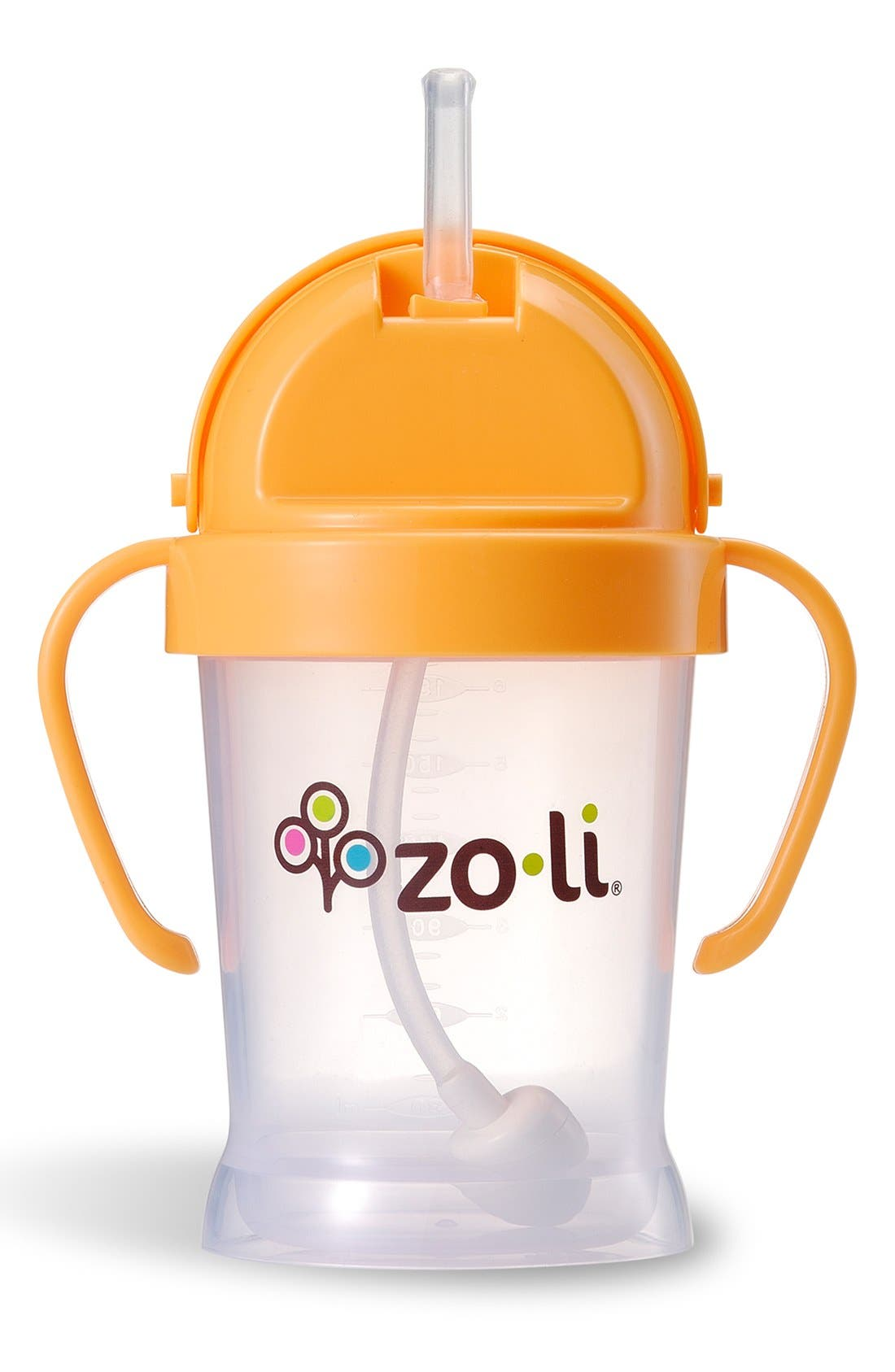 'BOT' Sippy Cup,                         Main,                         color, ORANGE