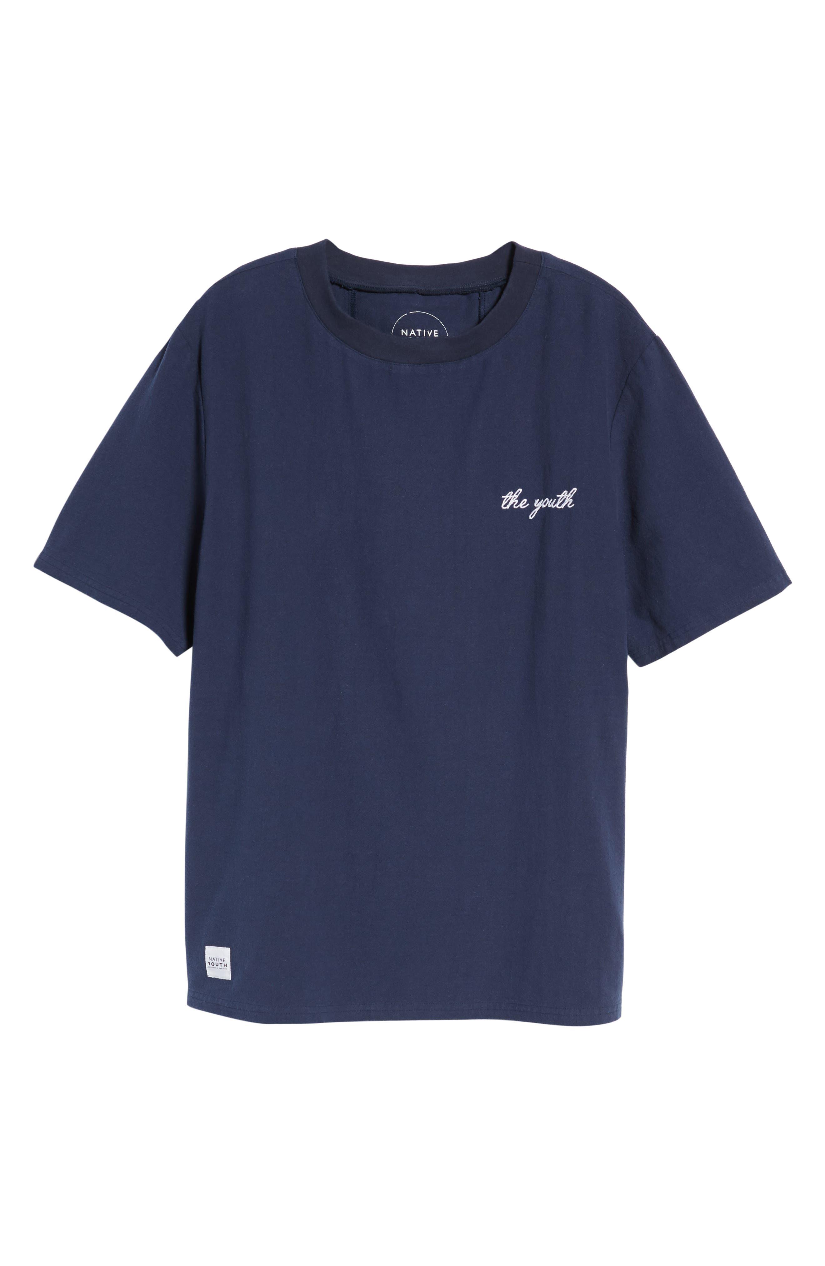 Broads Woven T-Shirt,                             Alternate thumbnail 6, color,                             400