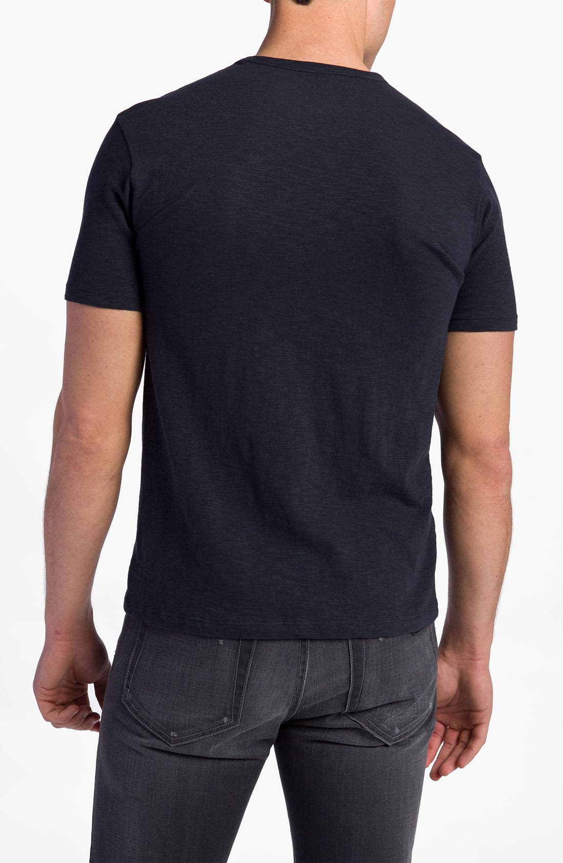'Chicago Cubs' Regular Fit Crewneck T-Shirt,                             Alternate thumbnail 65, color,