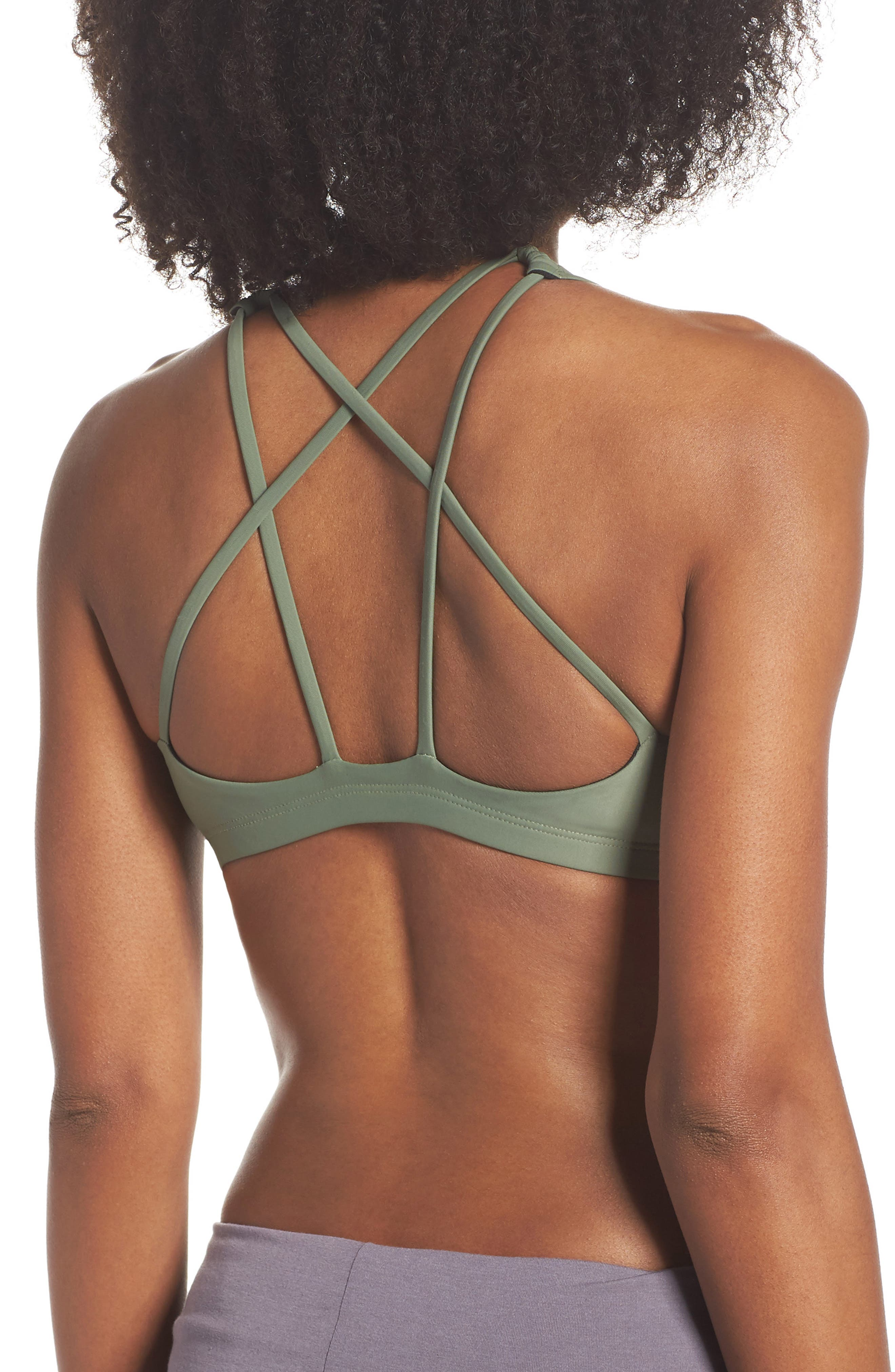 Mudra Sports Bra,                             Alternate thumbnail 2, color,                             SAGE