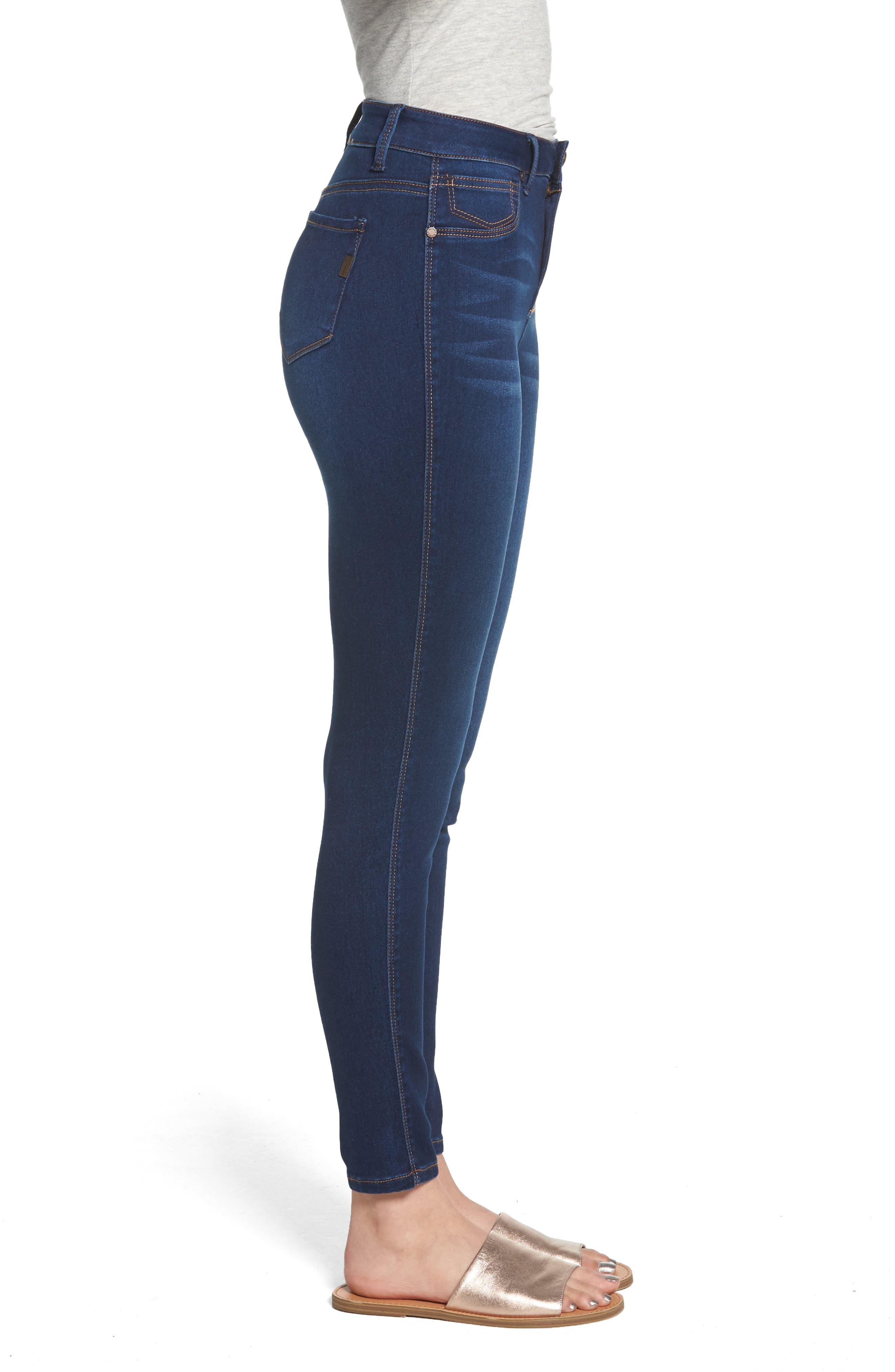 1822 DENIM,                             Butter High Rise Skinny Jeans,                             Alternate thumbnail 3, color,                             LENNOX