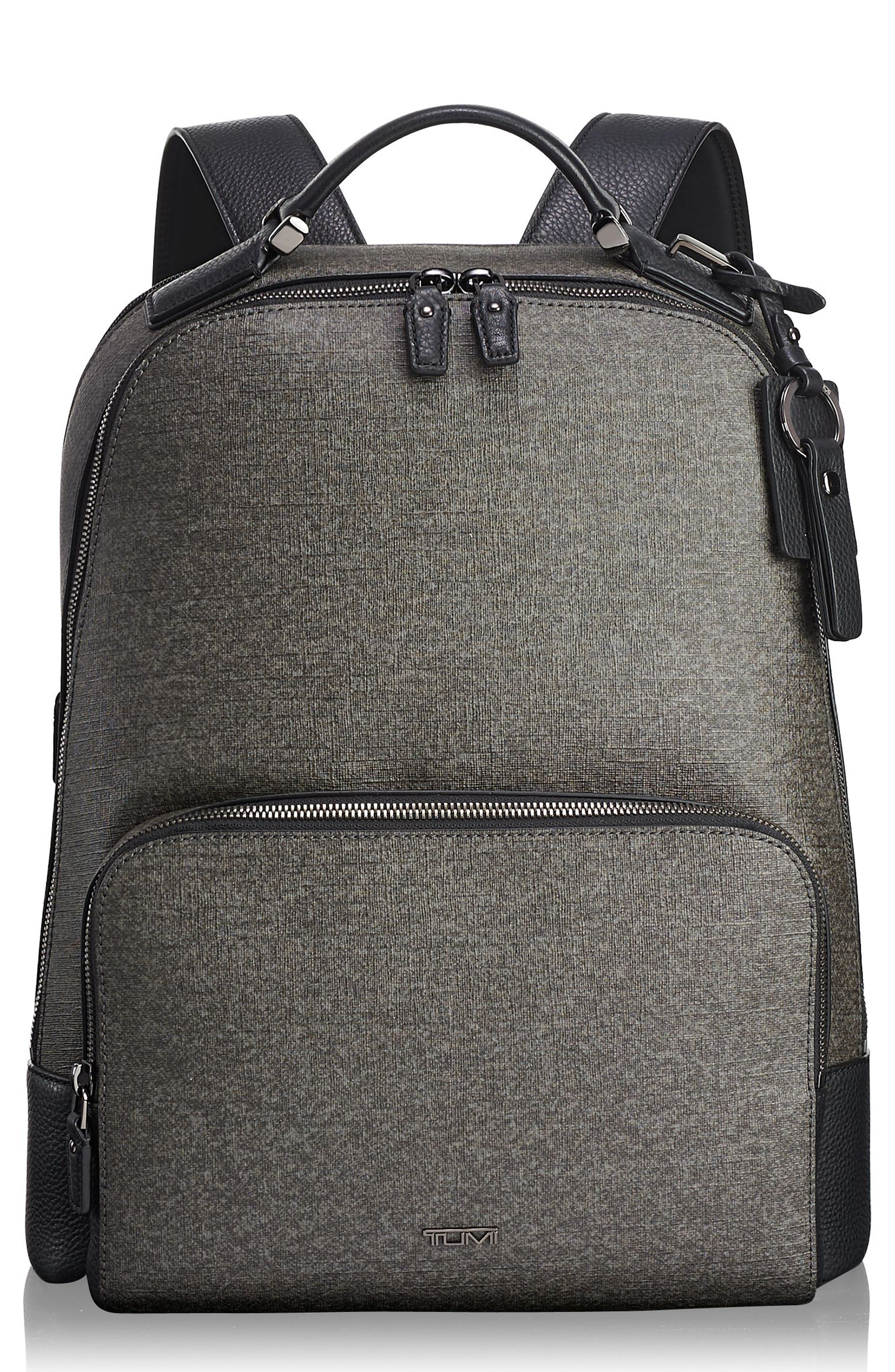 Stanton Gail Commuter Laptop Backpack,                         Main,                         color, EARL GREY