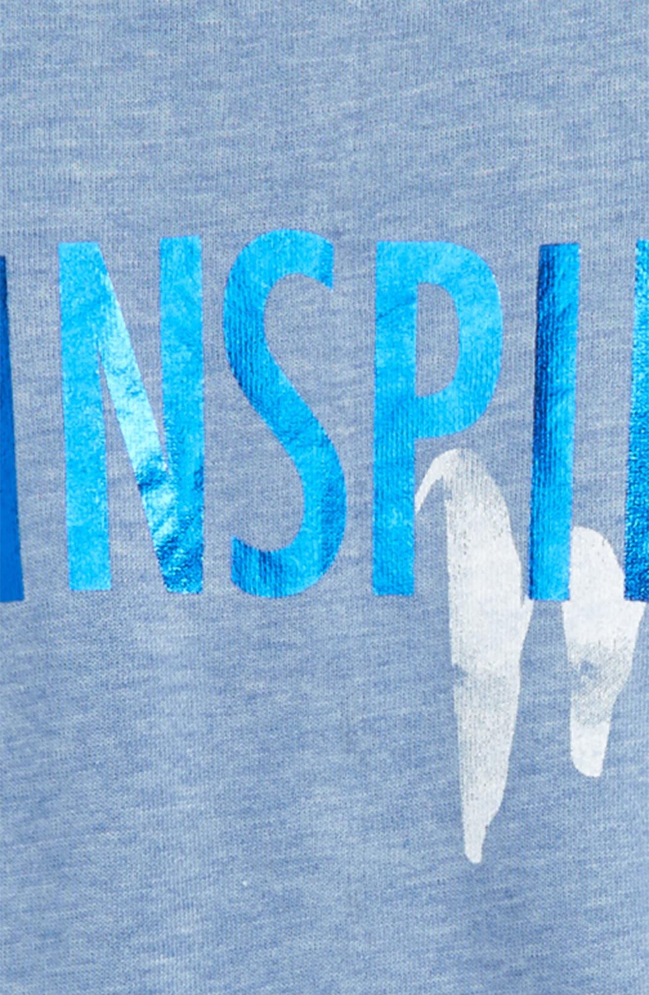 Inspire Me Sweatshirt Tee,                             Alternate thumbnail 2, color,                             406