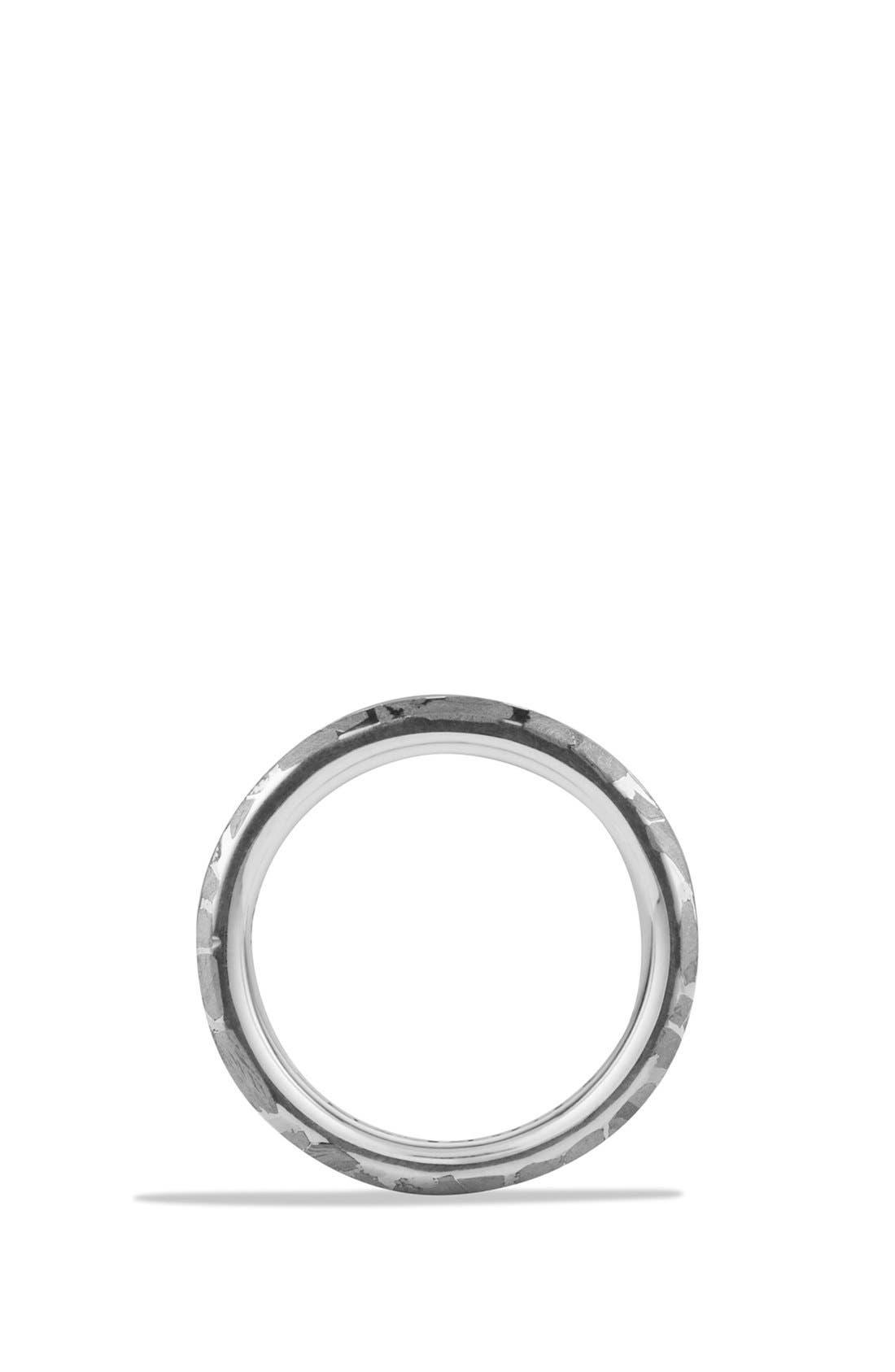 Fused Meteorite Ring,                             Alternate thumbnail 2, color,                             METEORITE