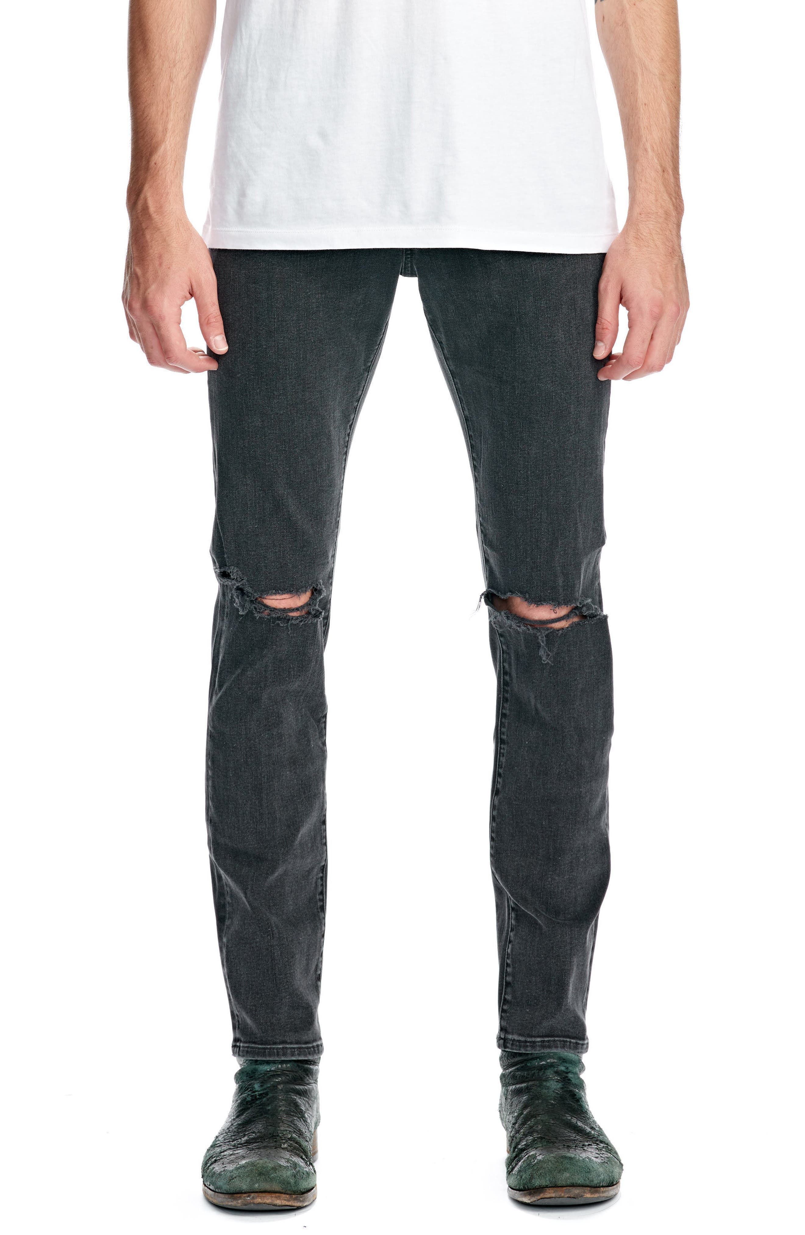 Iggy Skinny Fit Jeans,                             Main thumbnail 1, color,                             405