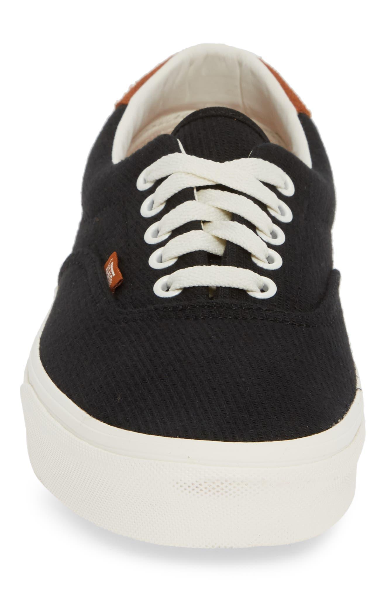 Flannel Era Sneaker,                             Alternate thumbnail 4, color,                             BLACK FLANNEL FLANNEL