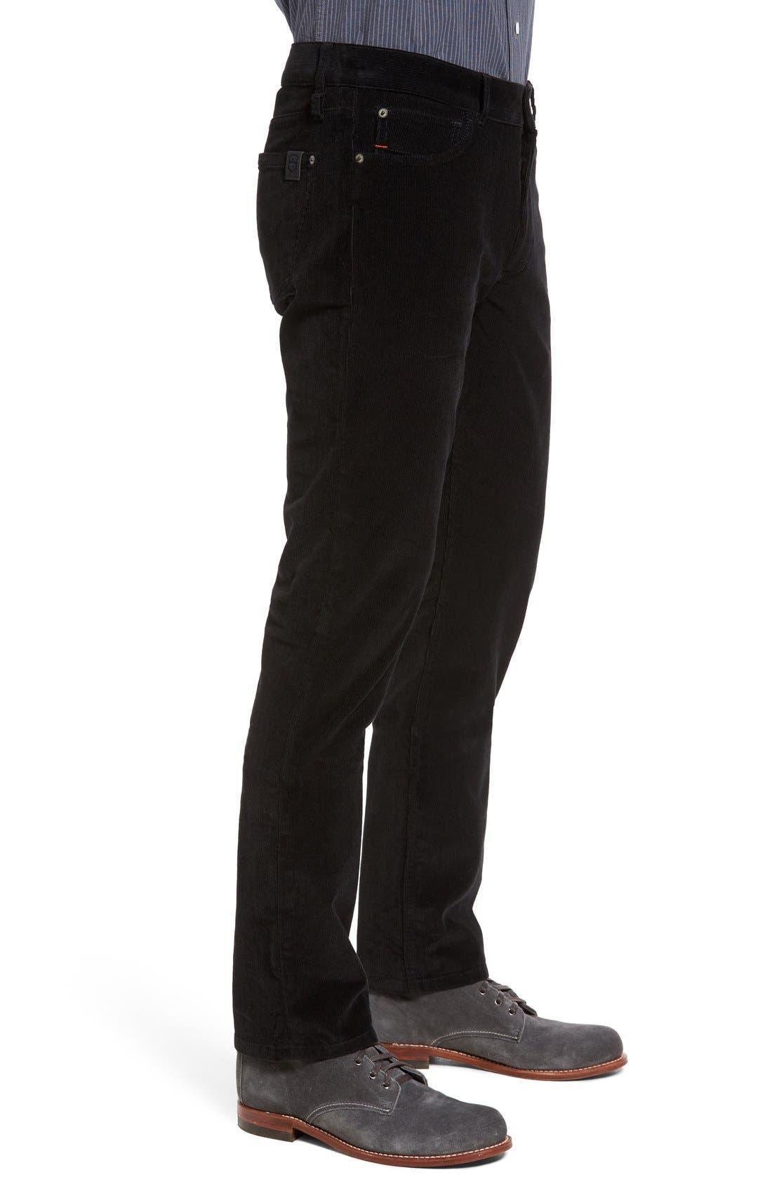 Industrialist Slim Fit Corduroy Pants,                             Alternate thumbnail 2, color,                             001