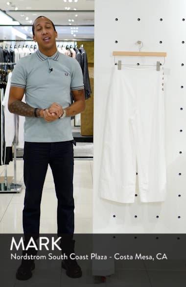 Button Detail Crop Pants, sales video thumbnail