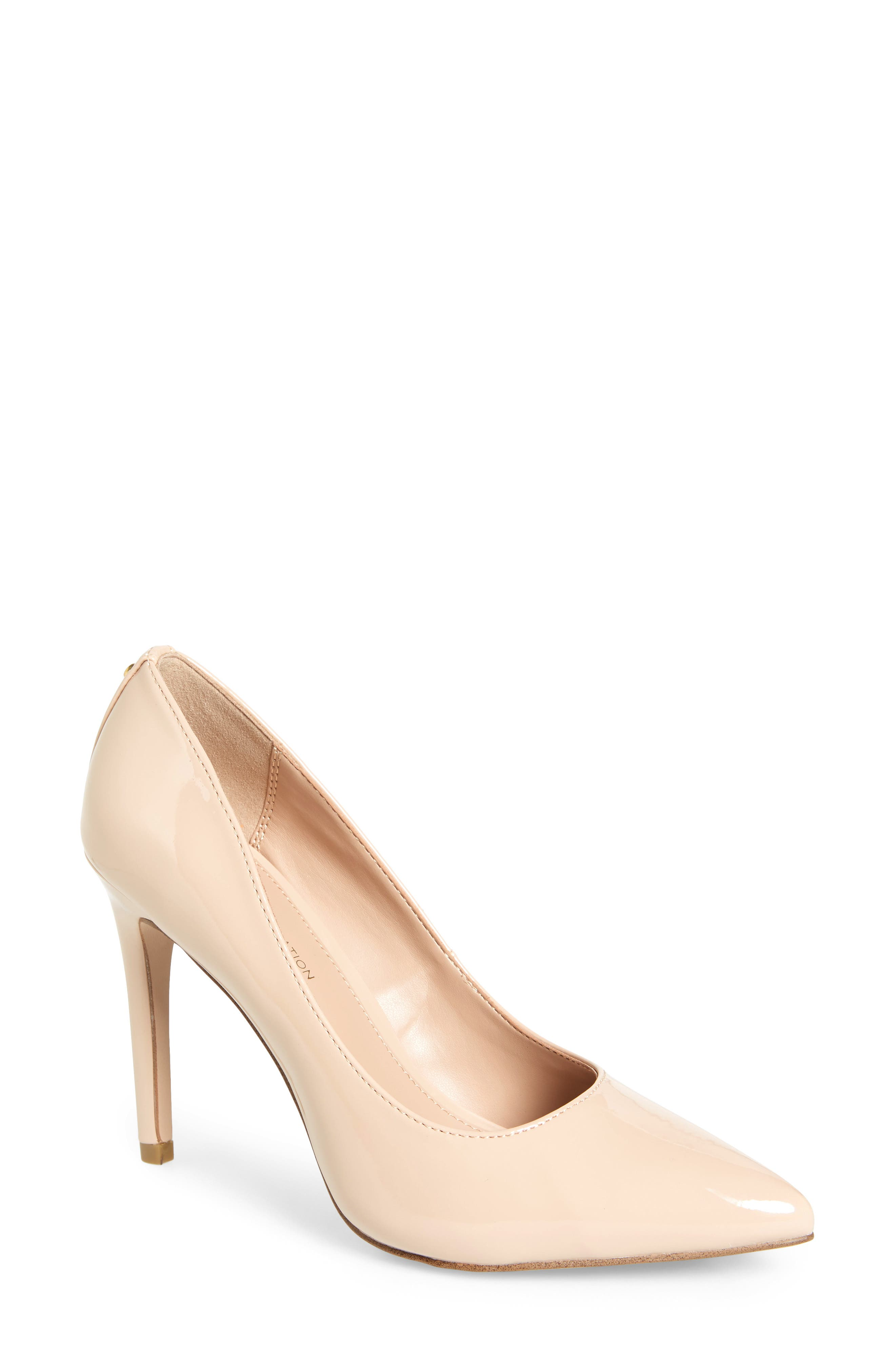 Heidi Pump,                         Main,                         color, SHELL PATENT LEATHER