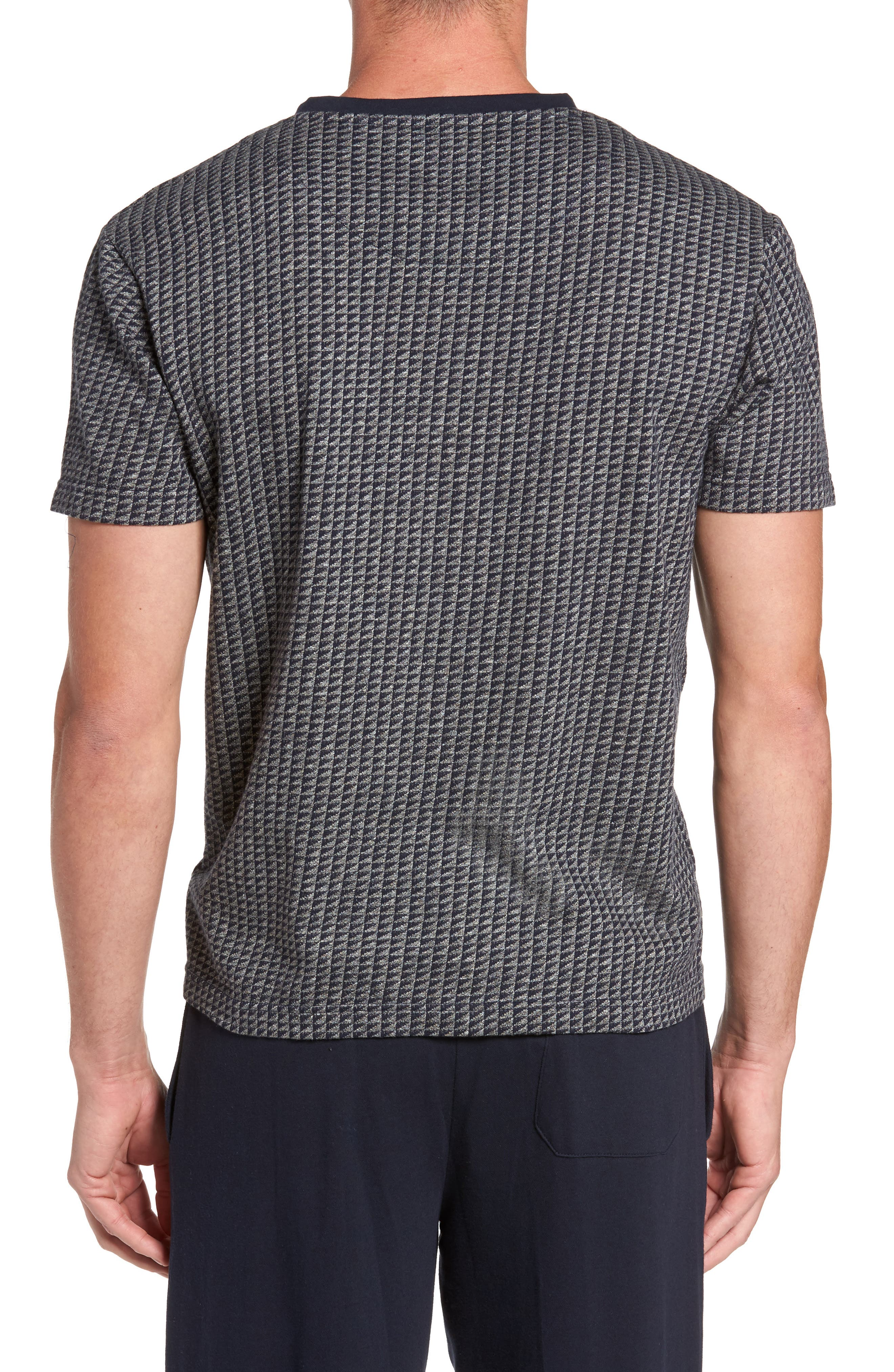 Trey V-Neck T-Shirt,                             Alternate thumbnail 2, color,                             030