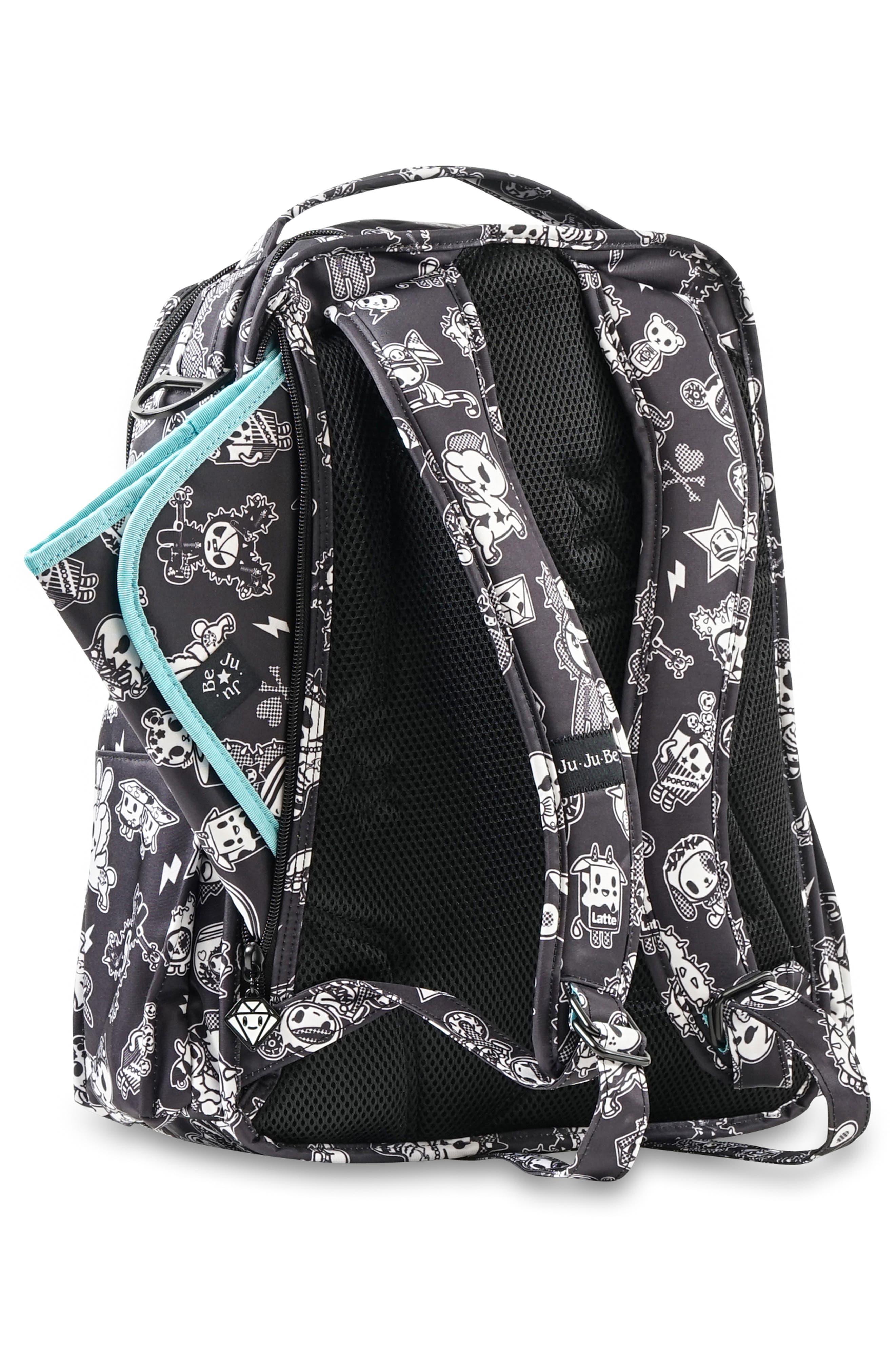 tokidoki x Ju-Ju-Be 'Be Right Back' Diaper Backpack,                             Alternate thumbnail 6, color,                             009