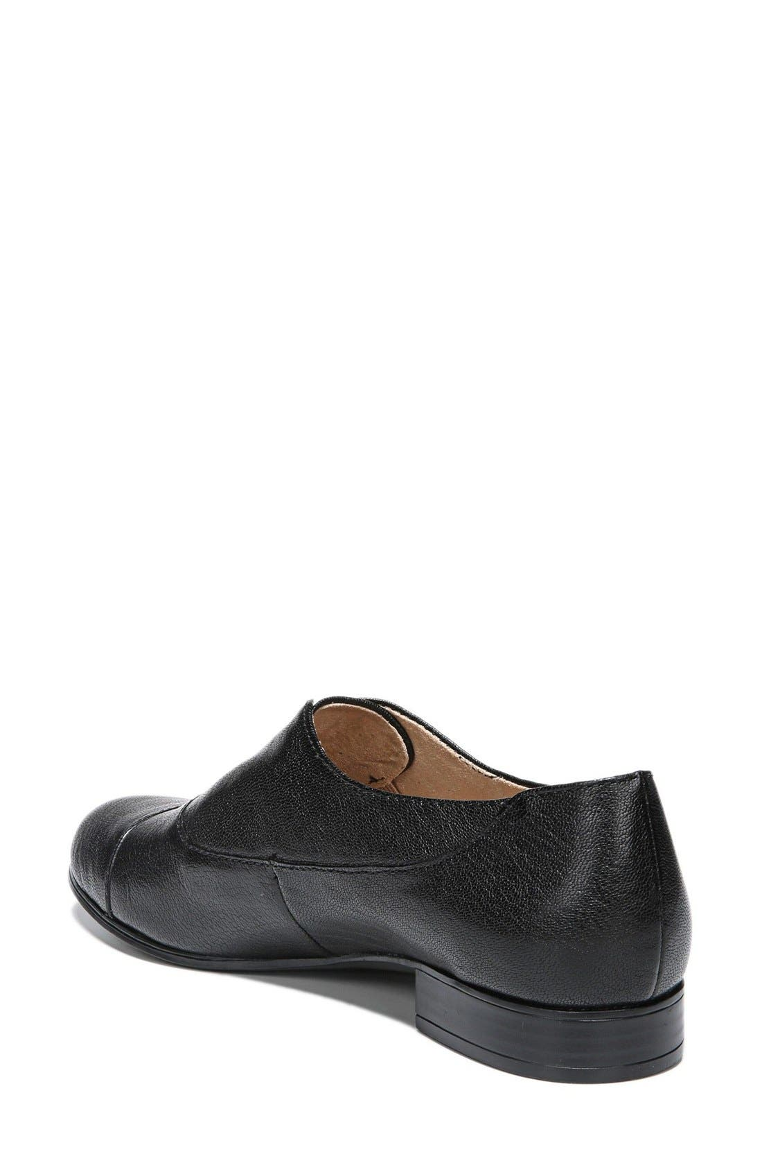 NATURALIZER,                             'Carabell' Laceless Oxford,                             Alternate thumbnail 3, color,                             001