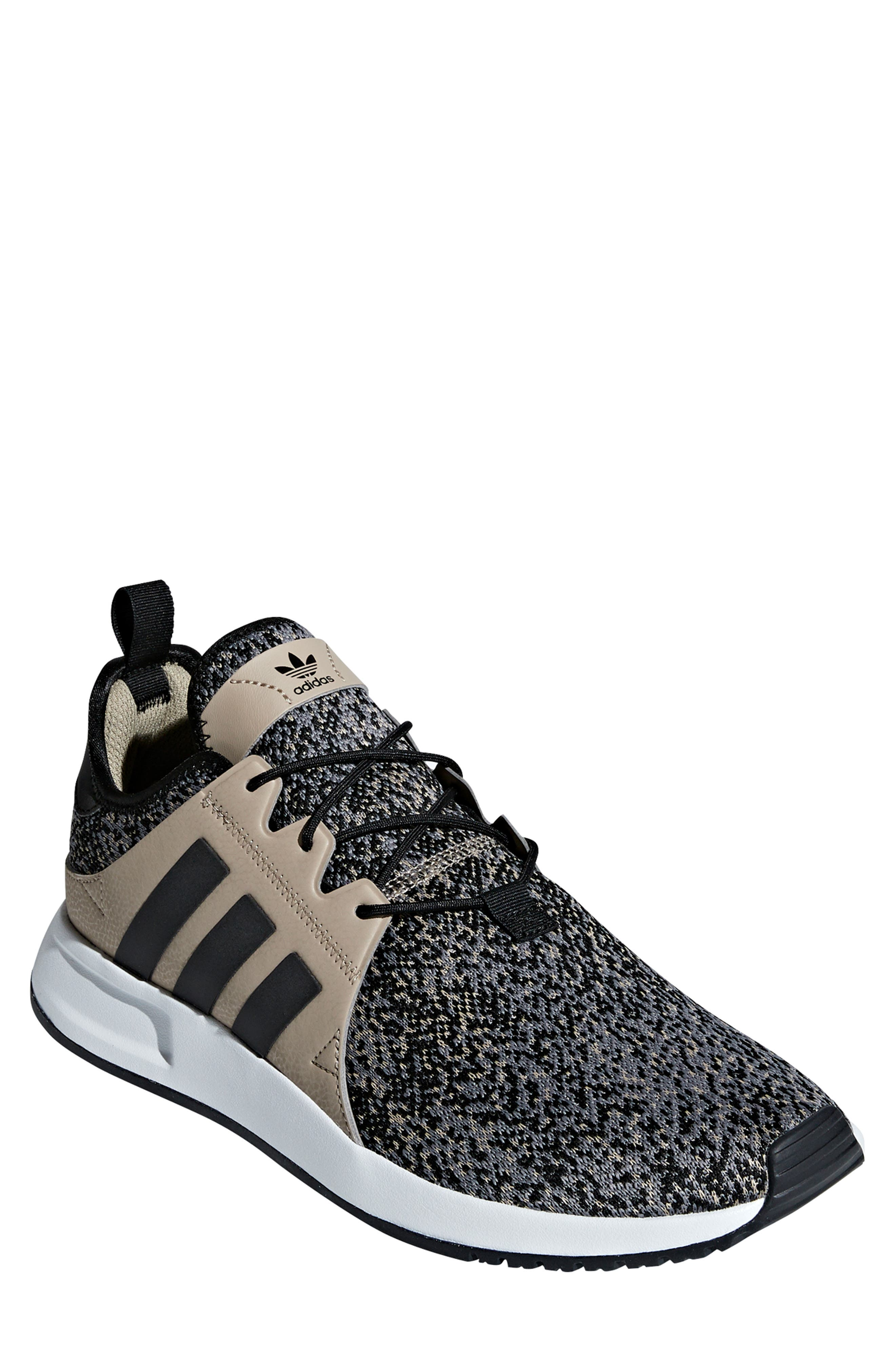 X_PLR Sneaker,                         Main,                         color, KHAKI / CORE BLACK / WHITE