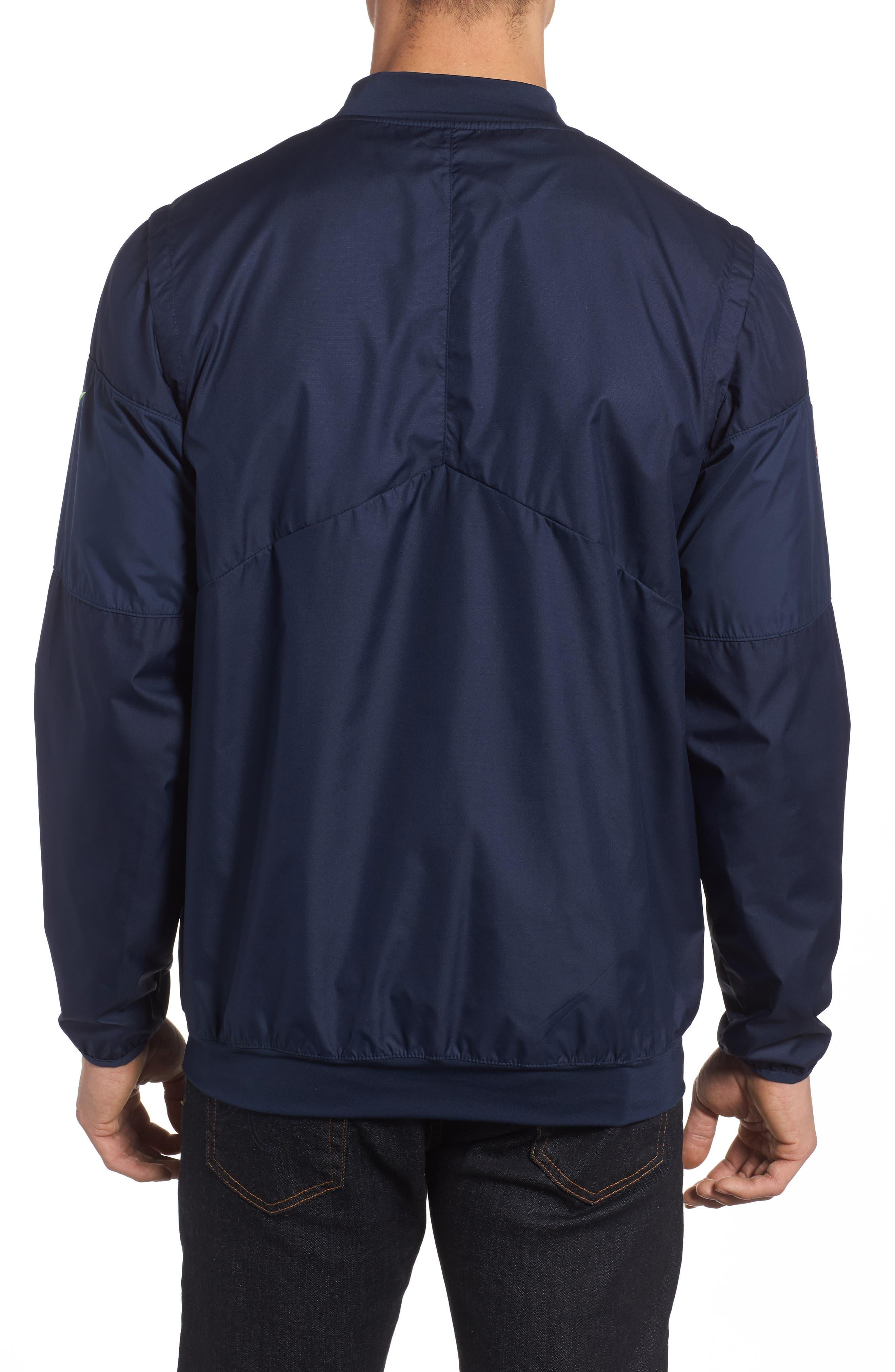 Lockdown NFL Pullover Jacket,                             Alternate thumbnail 9, color,