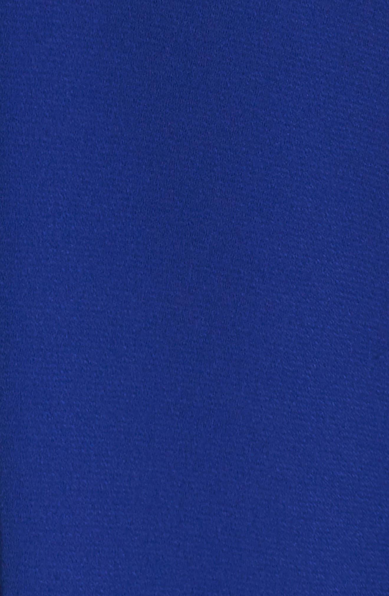 Ruched Sleeve Wide Leg Jumpsuit,                             Alternate thumbnail 6, color,                             430