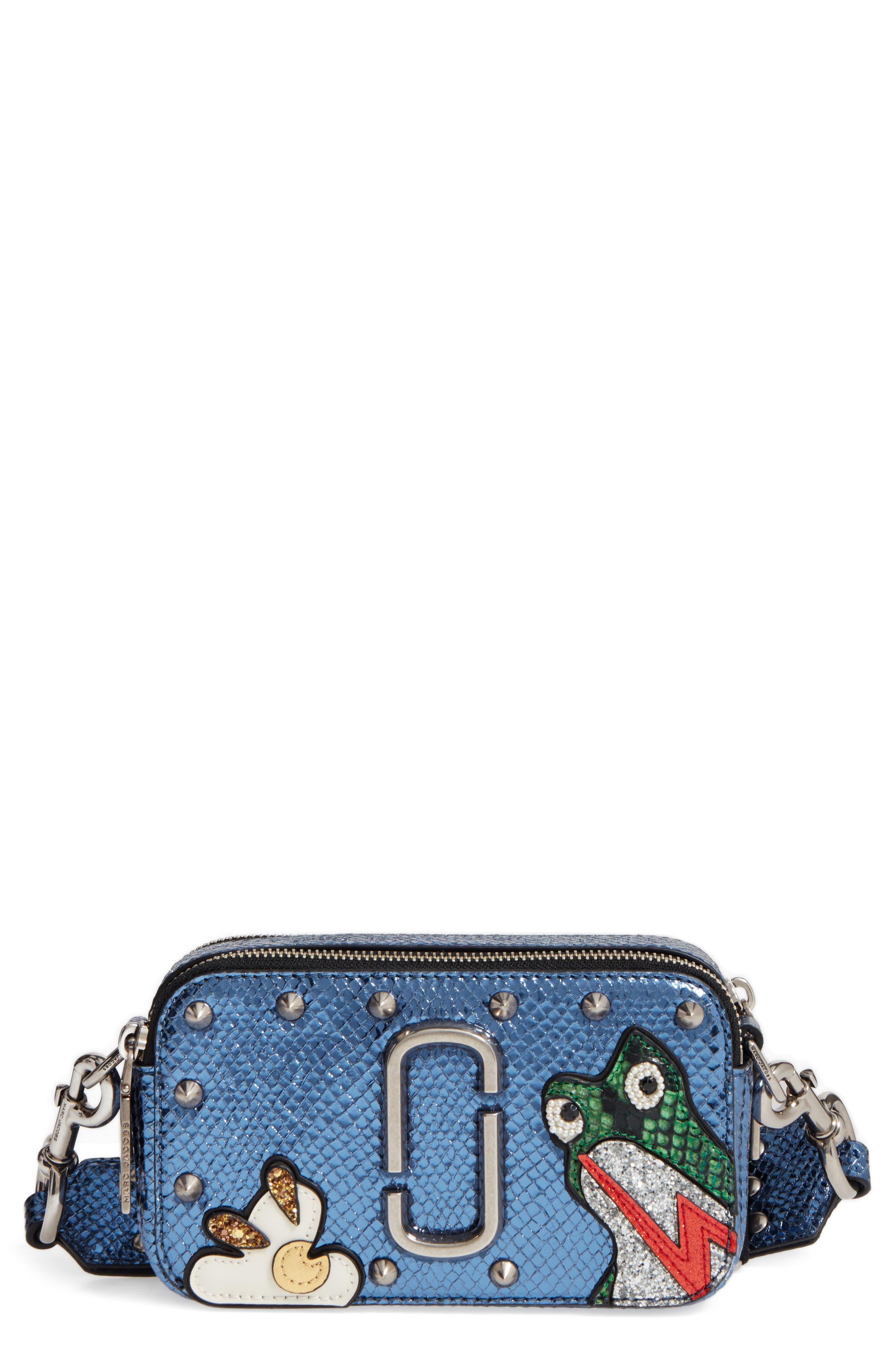 MARC JACOBS Frog Snapshot Crossbody Bag, Main, color, 410