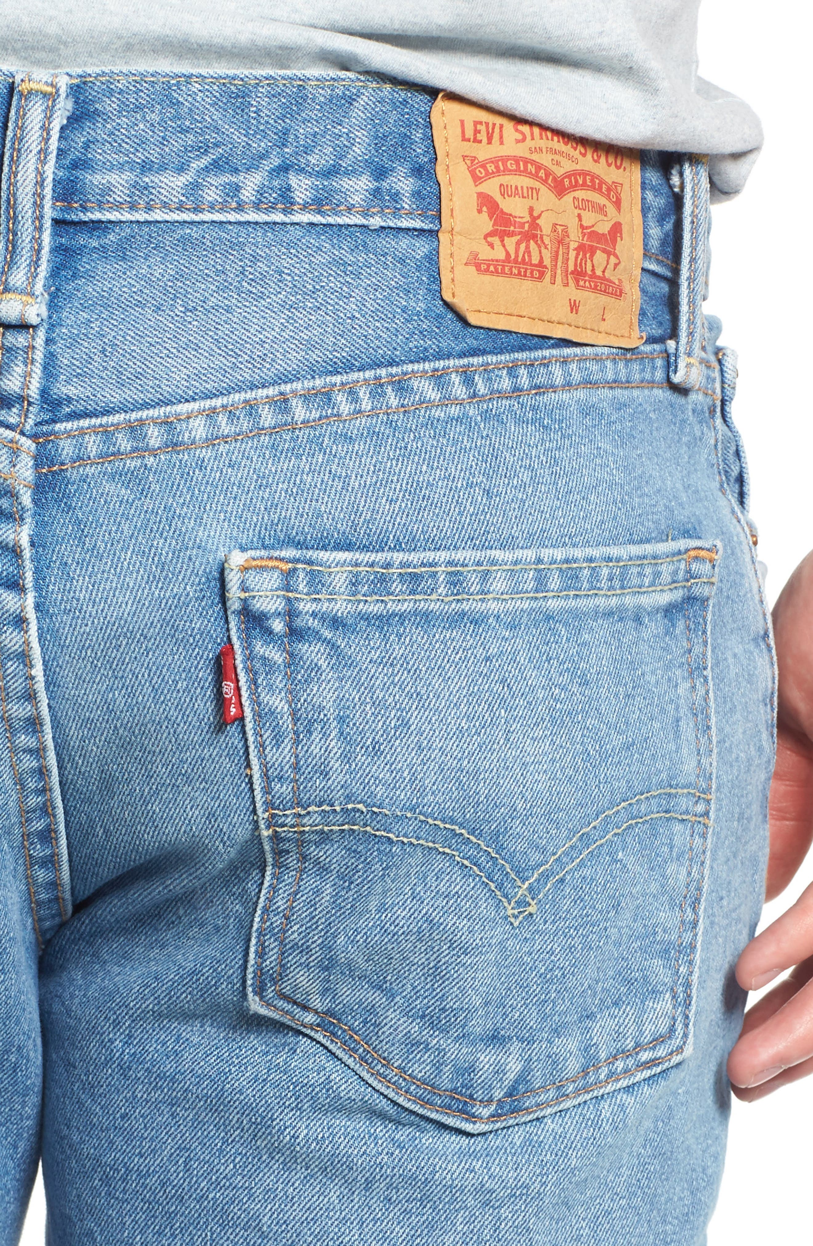 511<sup>™</sup> Cutoff Denim Shorts,                             Alternate thumbnail 4, color,                             420