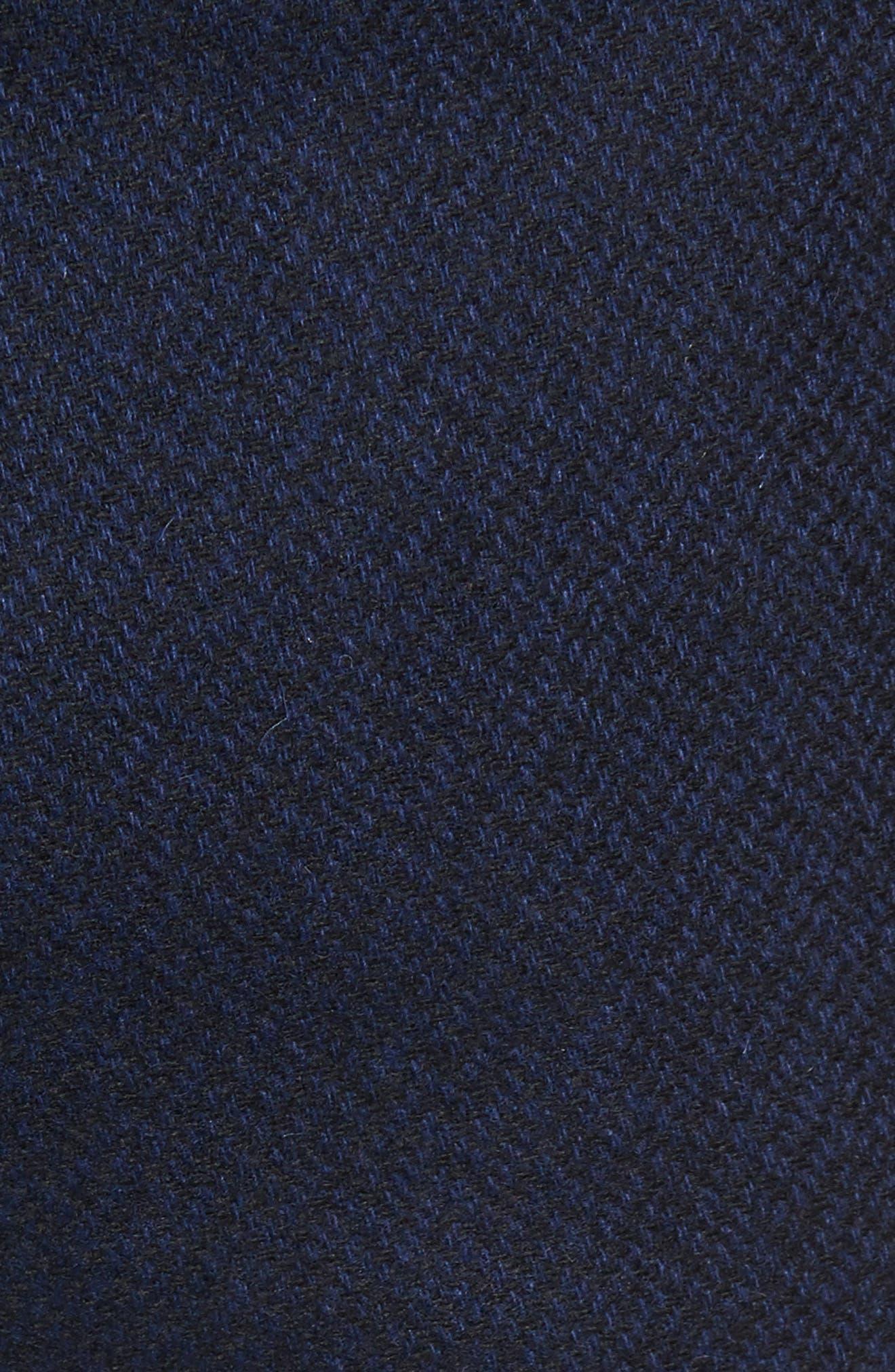 Glentro Semi Plain Wool Blend Trousers,                             Alternate thumbnail 5, color,                             410