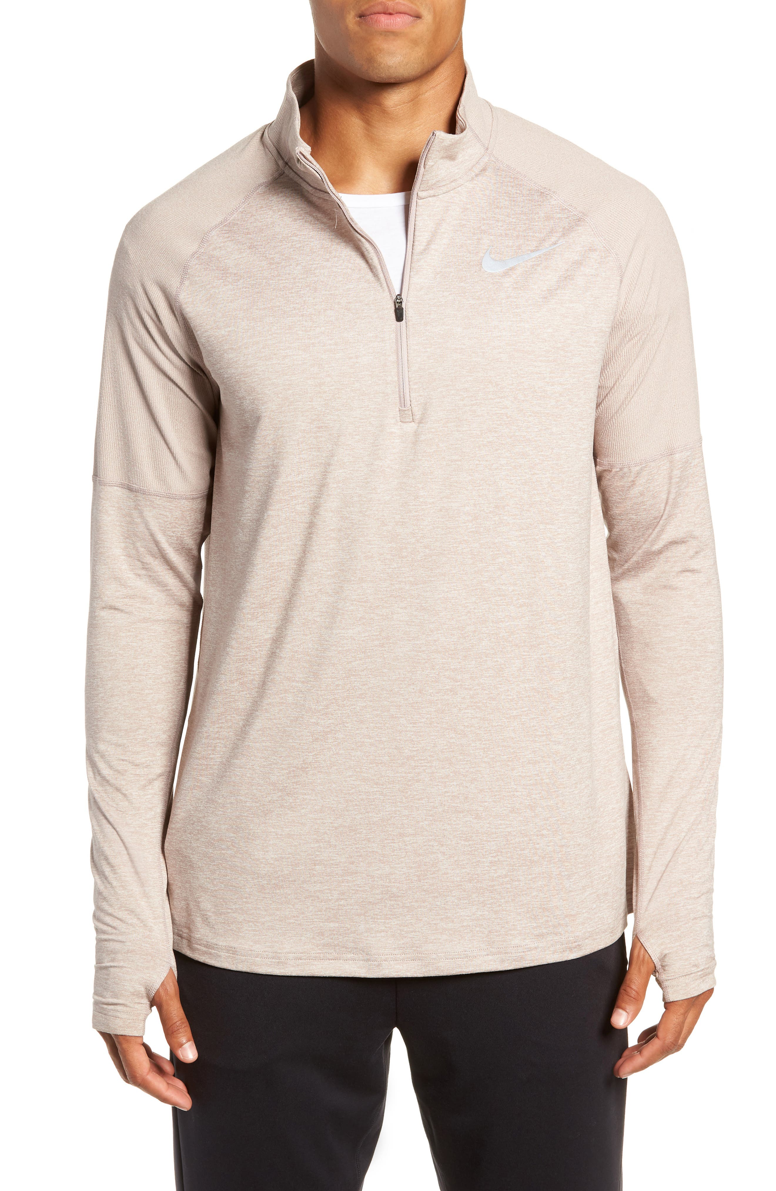 Element HZ 2.0 Performance Pullover,                         Main,                         color, DIFFUSED TAUPE/ SAND/ HEATHER