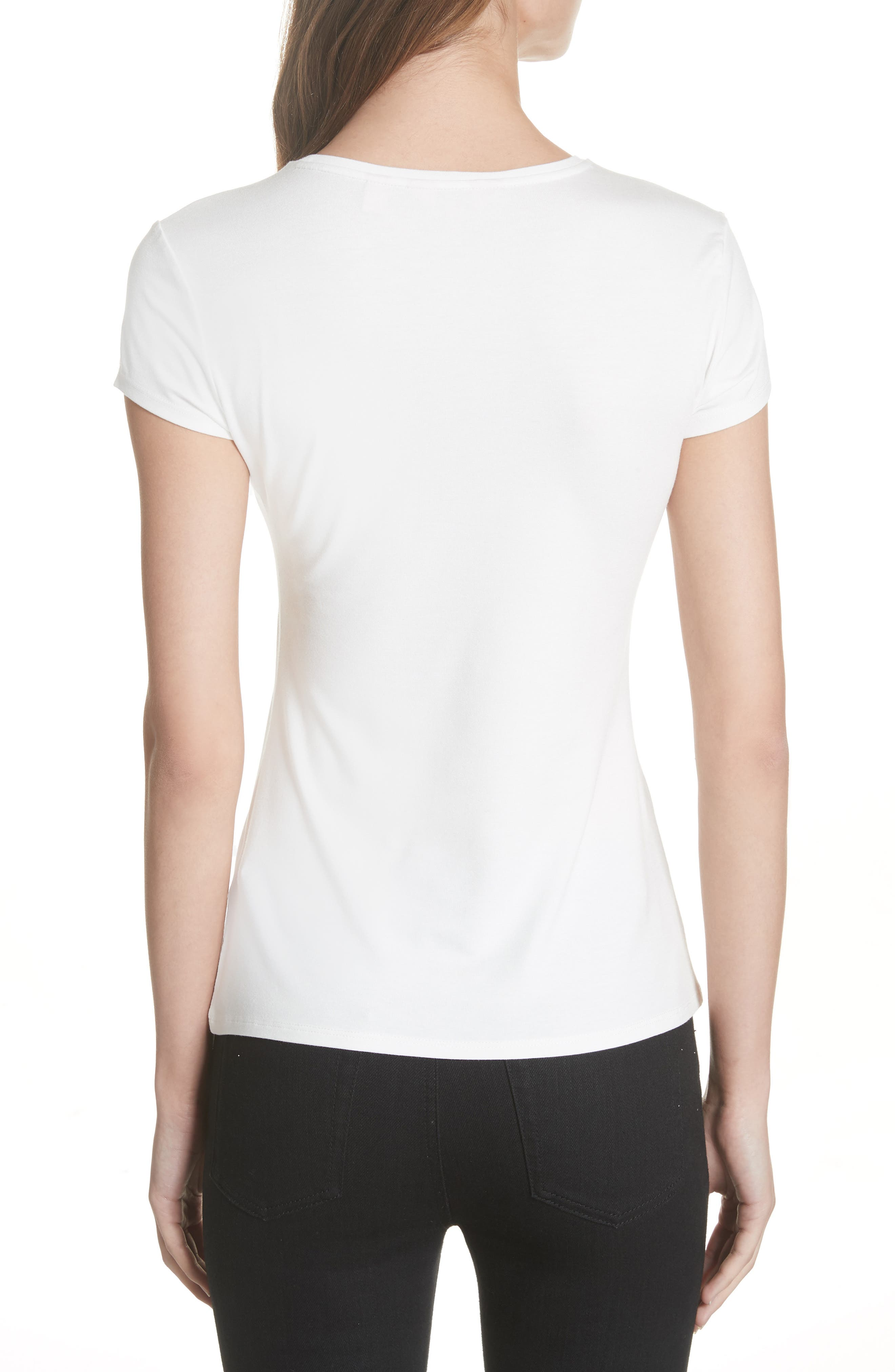 Laylar Kirstenbosch Embroidered Tee,                             Alternate thumbnail 2, color,                             905