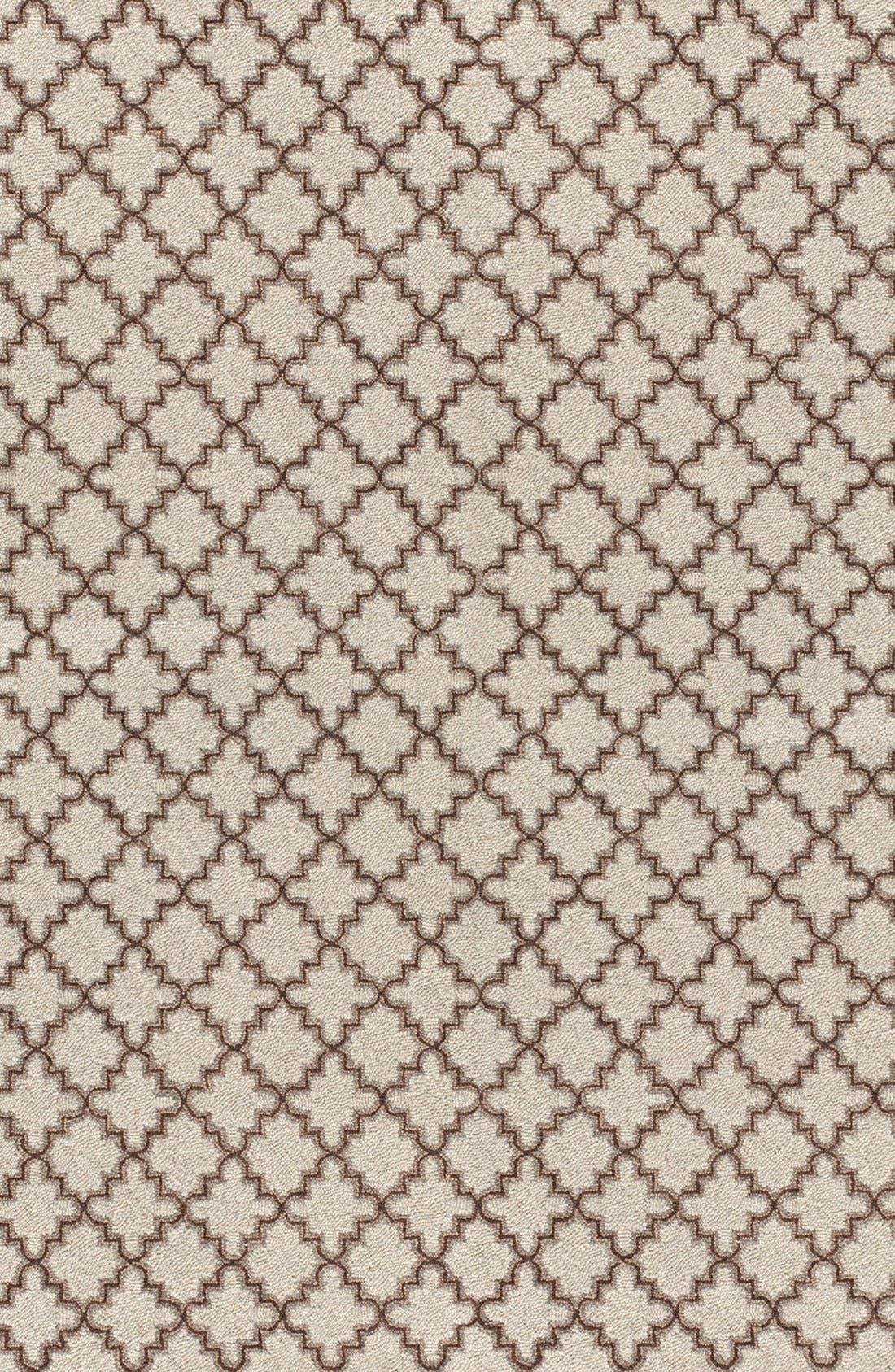 Hooked Wool Rug,                             Main thumbnail 1, color,                             230