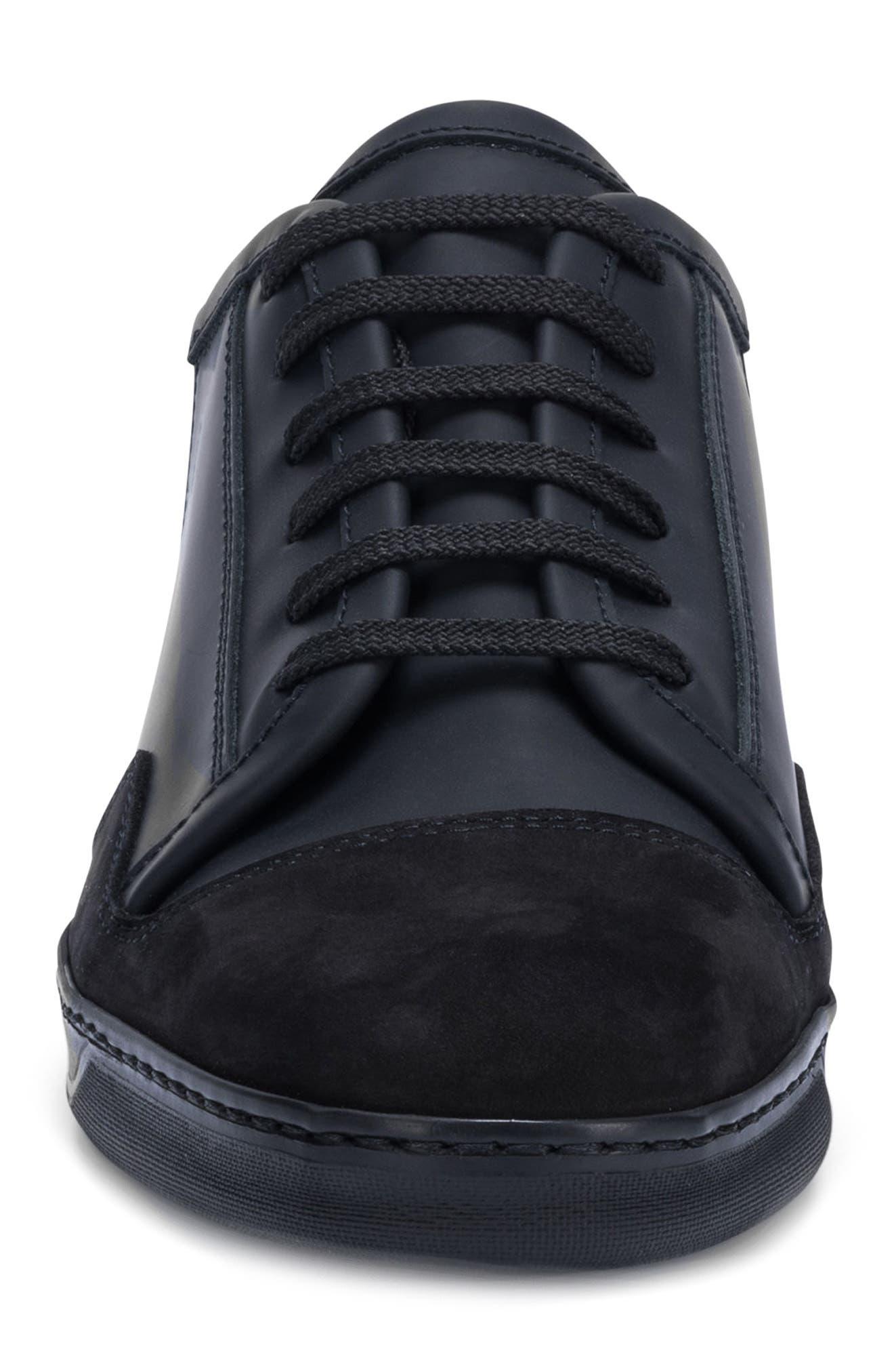 Bellagio Sneaker,                             Alternate thumbnail 4, color,                             BLACK