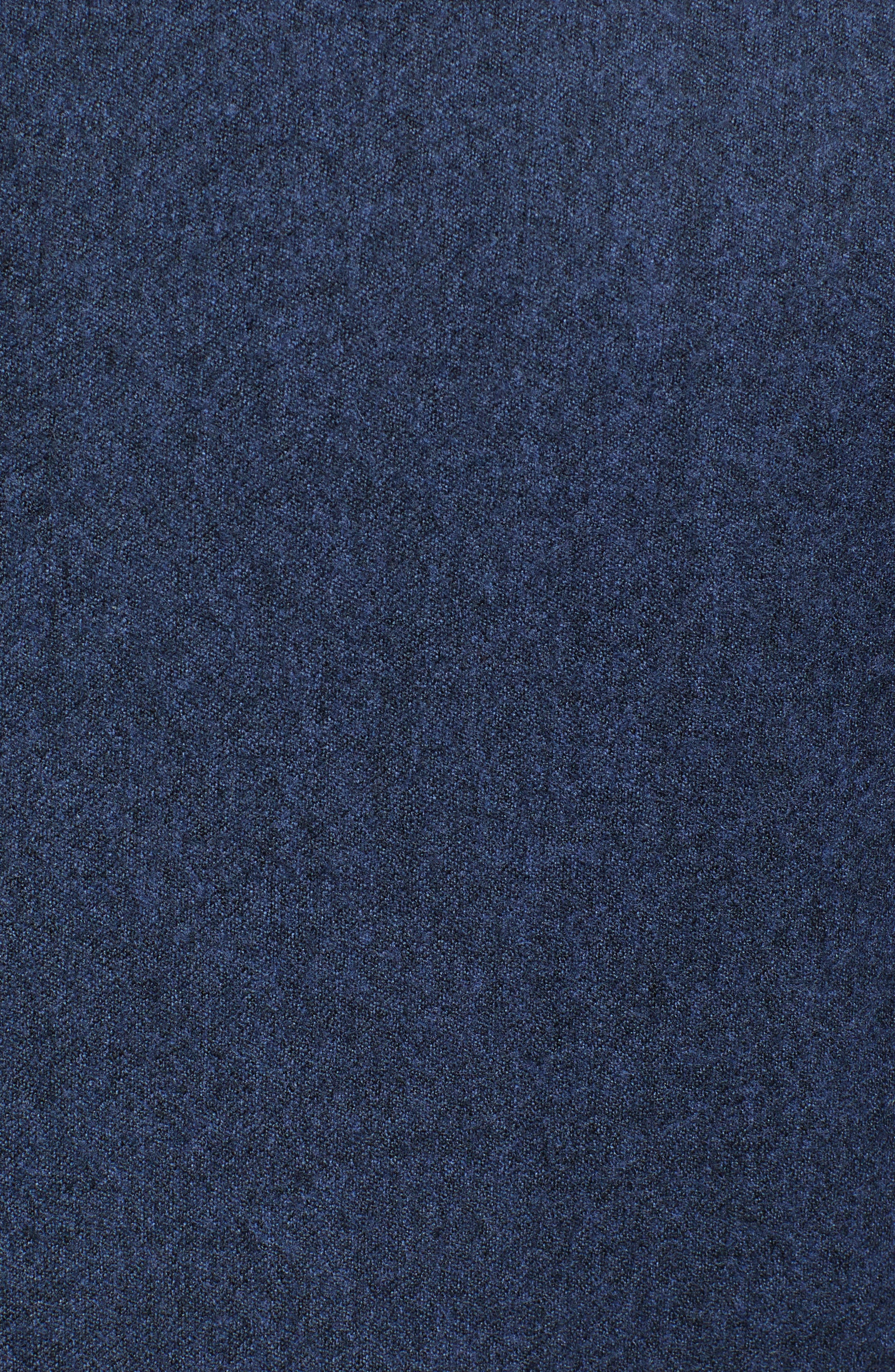 Hooper Trim Fit Wool Blazer,                             Alternate thumbnail 6, color,                             DARK BLUE
