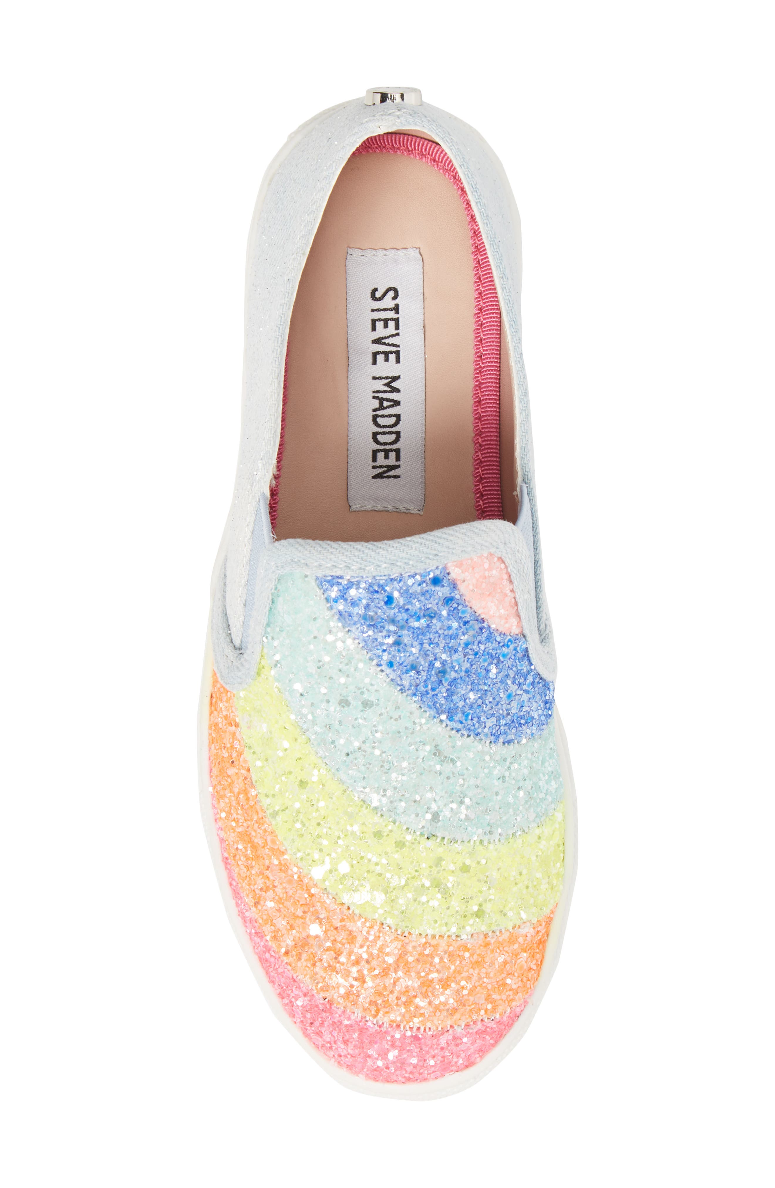 JWISH Rainbow Slip-On Sneaker,                             Alternate thumbnail 5, color,                             650