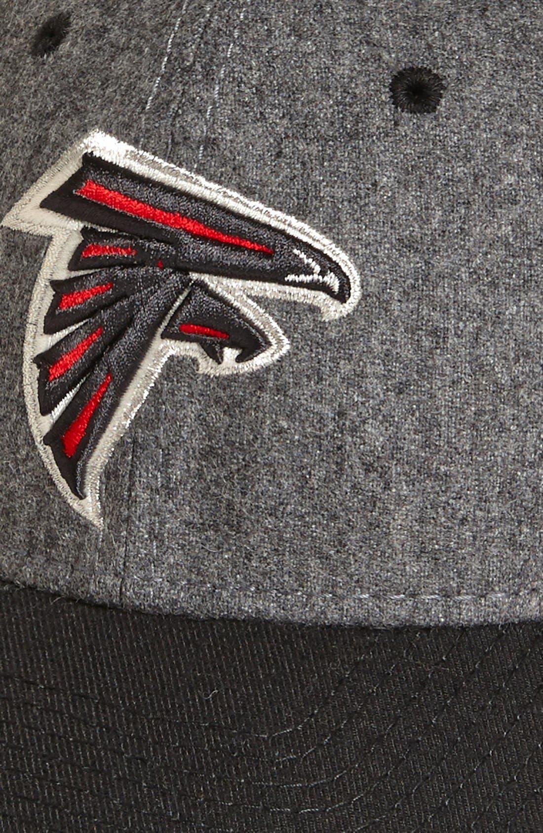 'Meltop - Atlanta Falcons' Fitted Baseball Cap,                             Alternate thumbnail 3, color,                             021