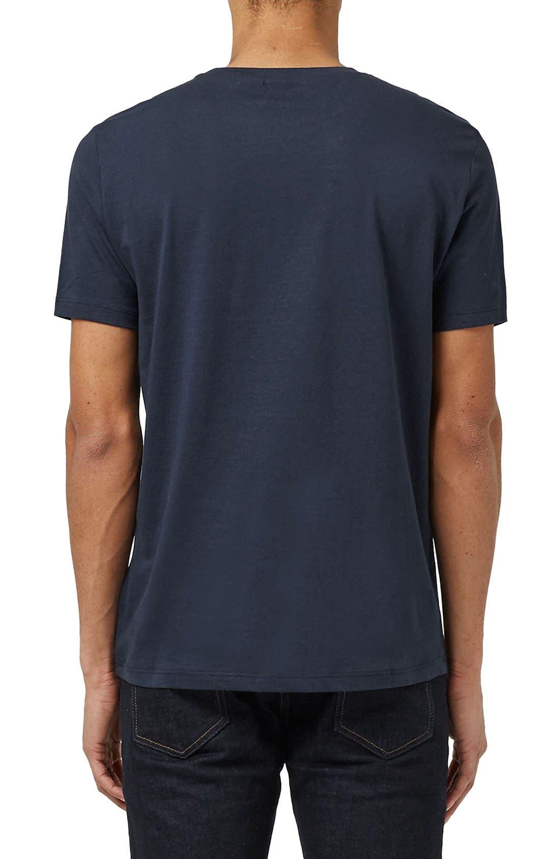 Slim Fit Crewneck T-Shirt,                             Alternate thumbnail 429, color,