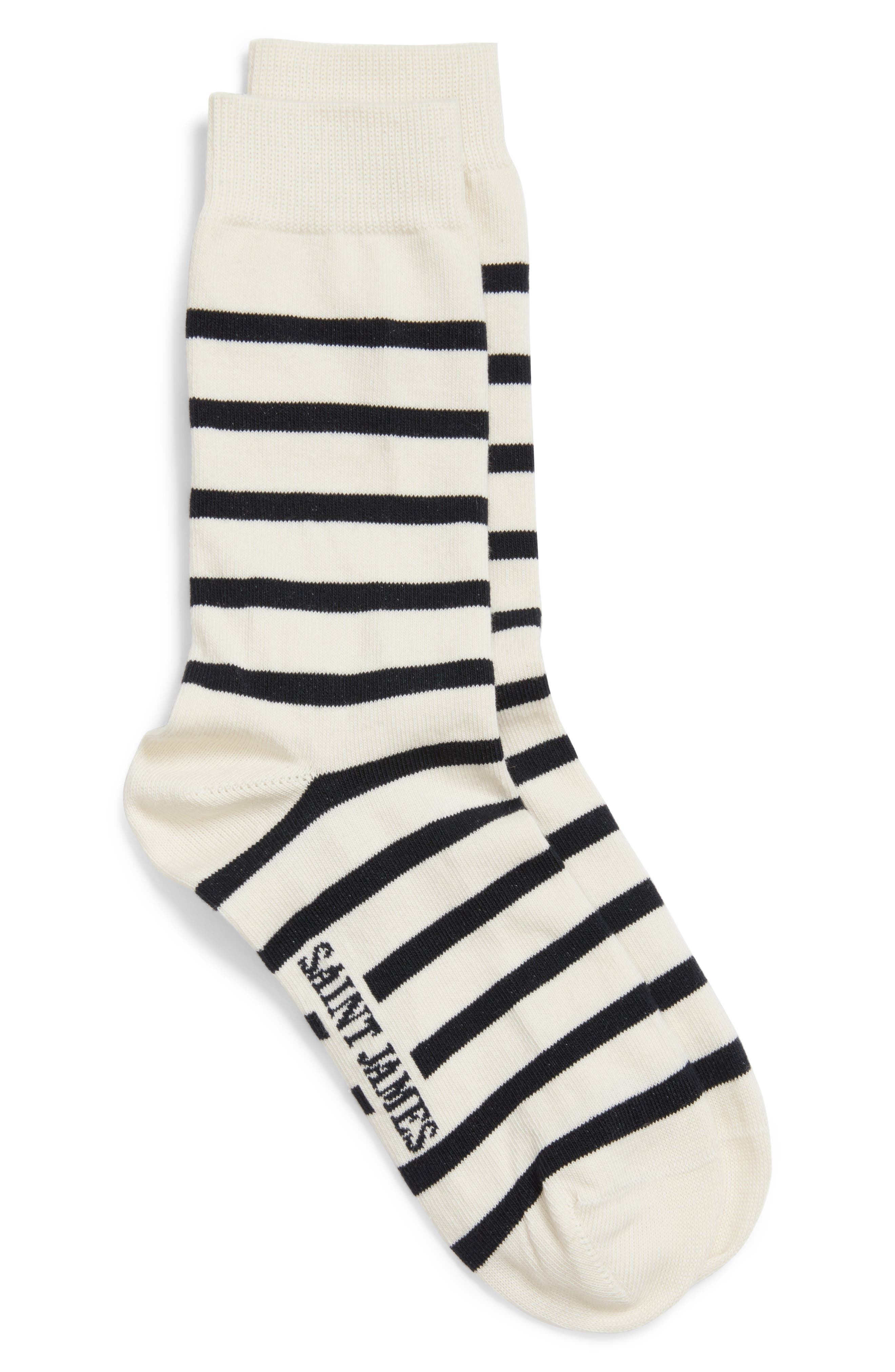 'Pieds Rayes A' Striped Socks,                             Main thumbnail 4, color,