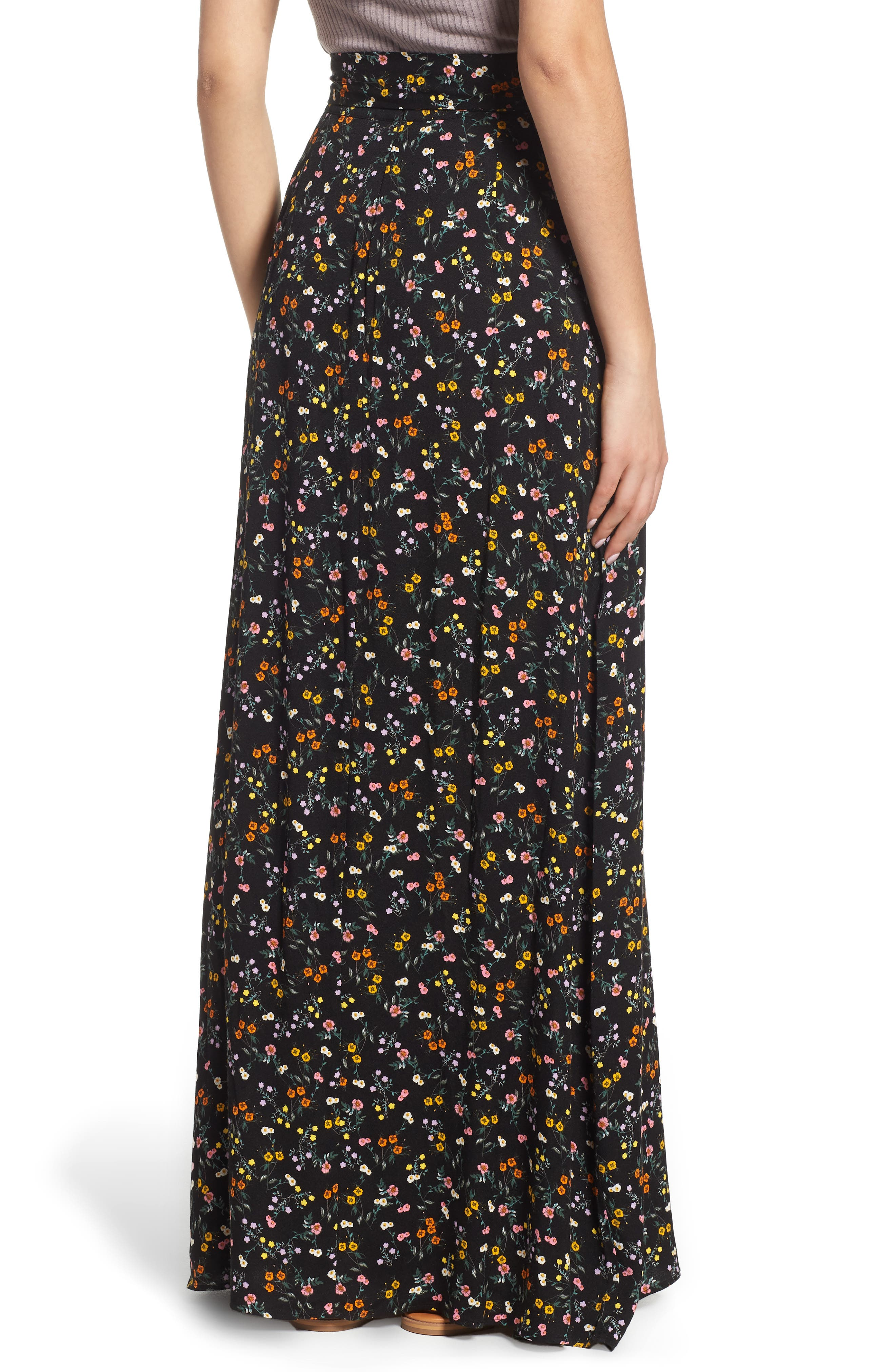 Alessandra Maxi Skirt,                             Alternate thumbnail 2, color,                             001