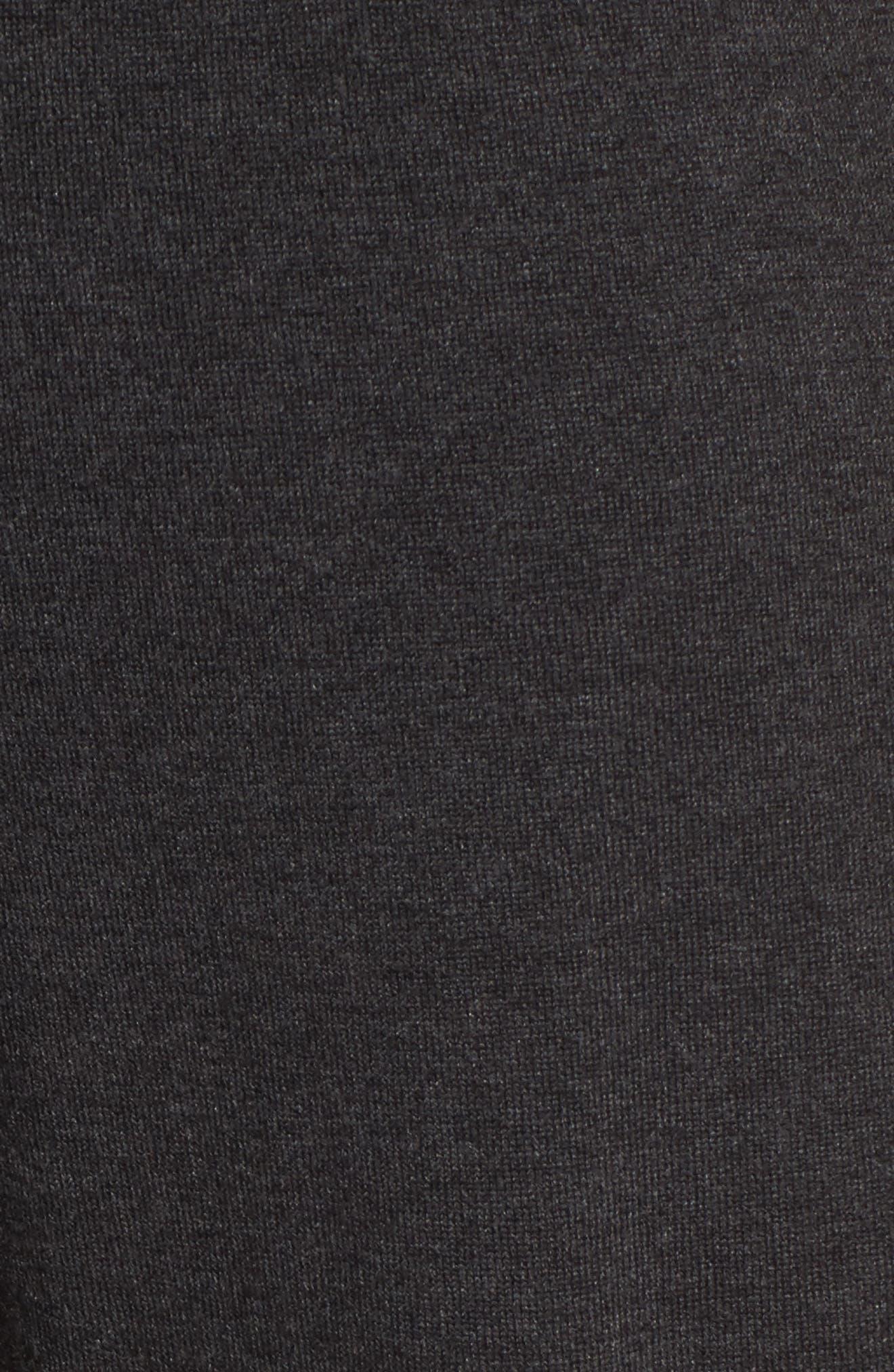 Tencel<sup>®</sup> Lyocell Blend Knit Wide Leg Pants,                             Alternate thumbnail 5, color,