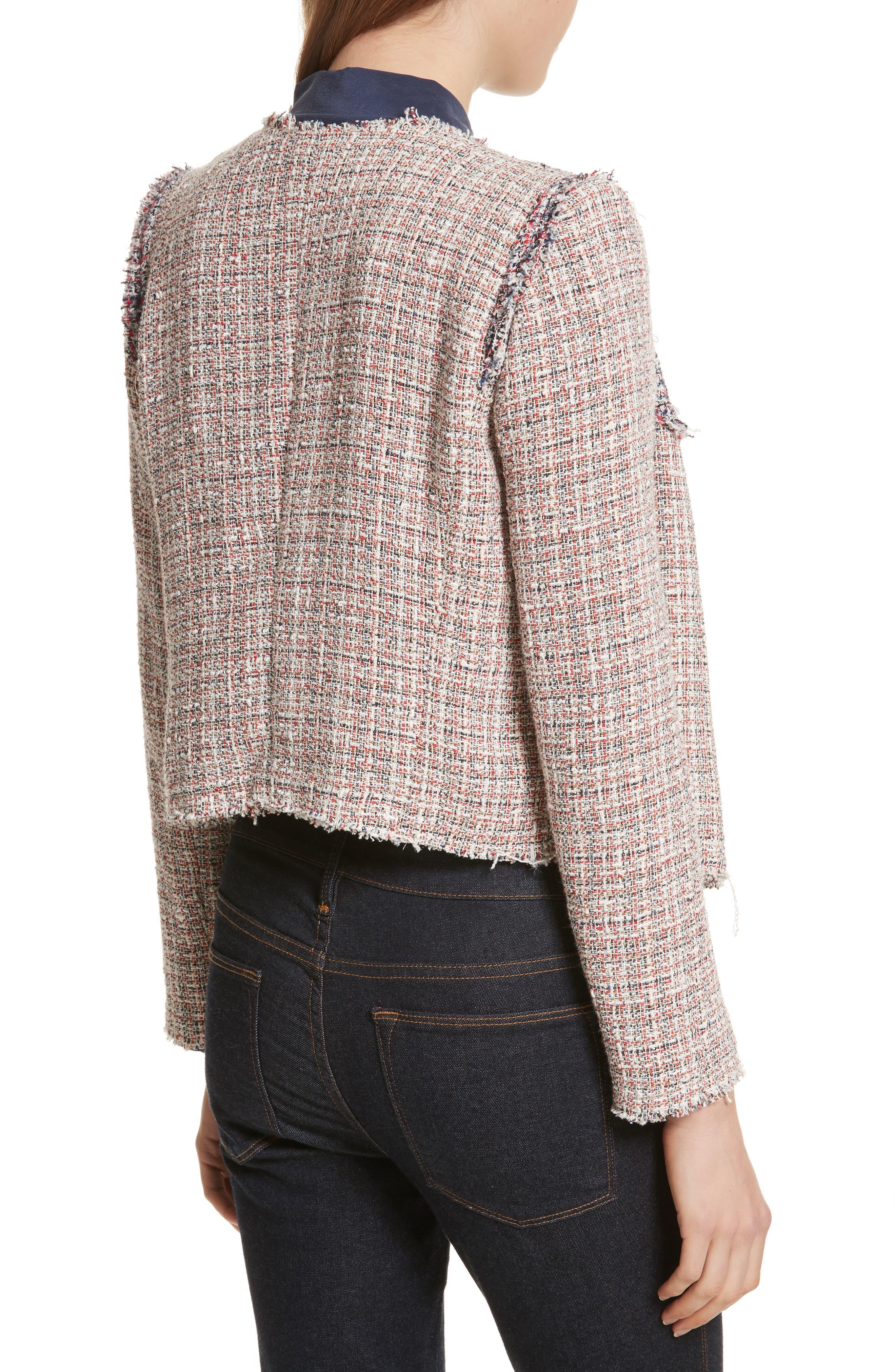 Walefa Tweed Jacket,                             Alternate thumbnail 2, color,                             651