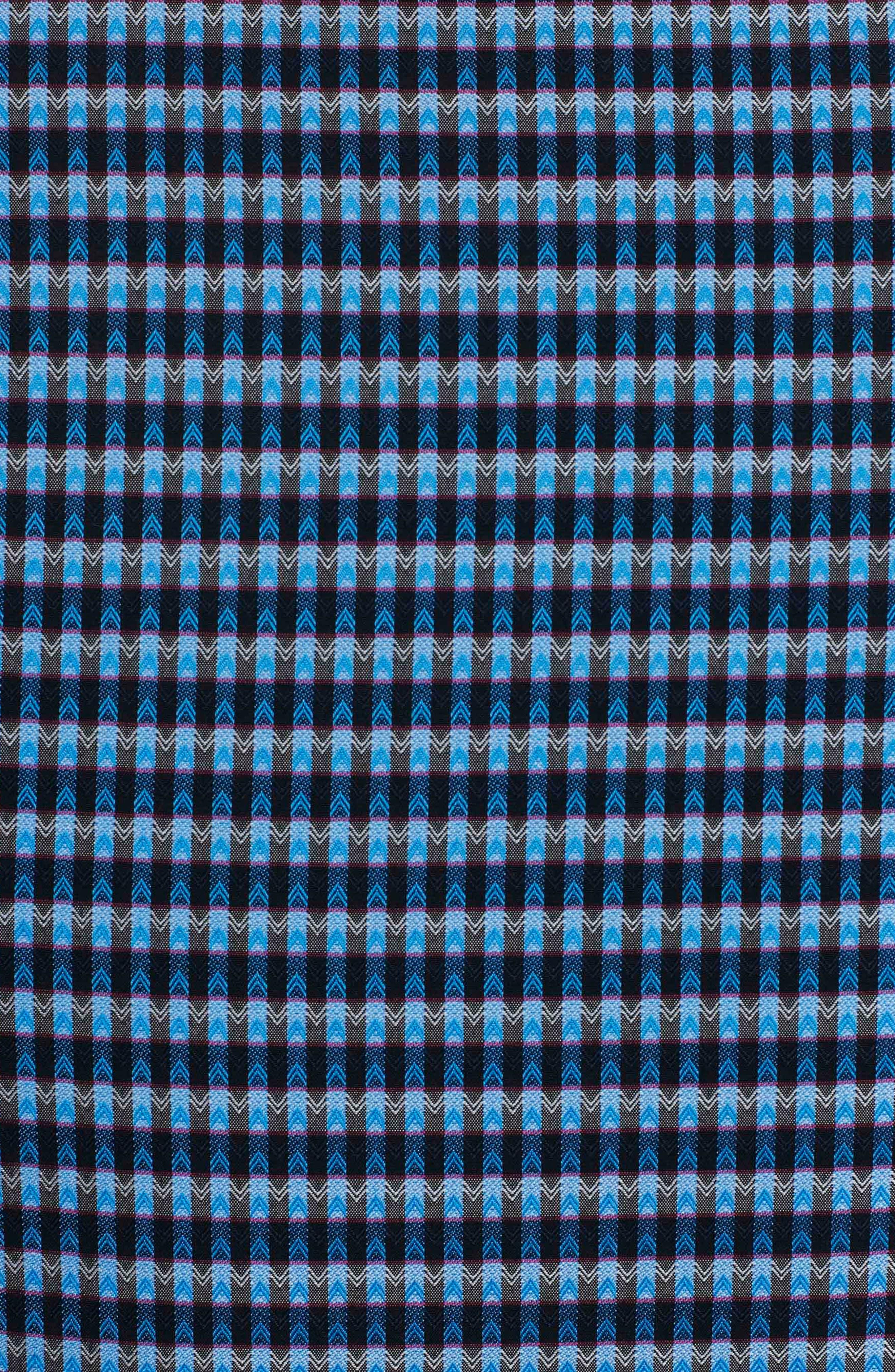 Hill Punch Classic Fit Print Sport Shirt,                             Alternate thumbnail 7, color,