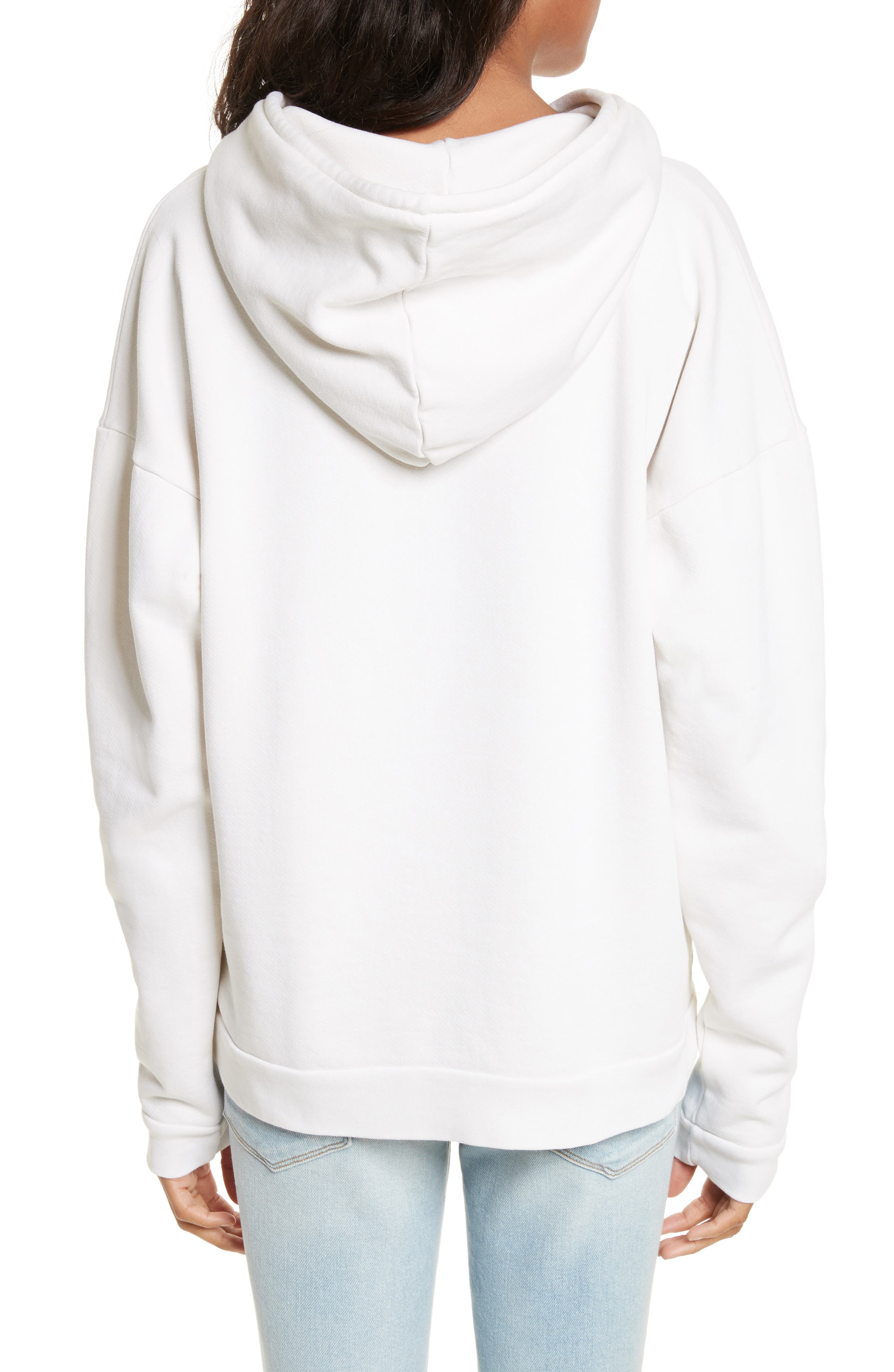 Oversize Hoodie,                             Alternate thumbnail 2, color,                             120