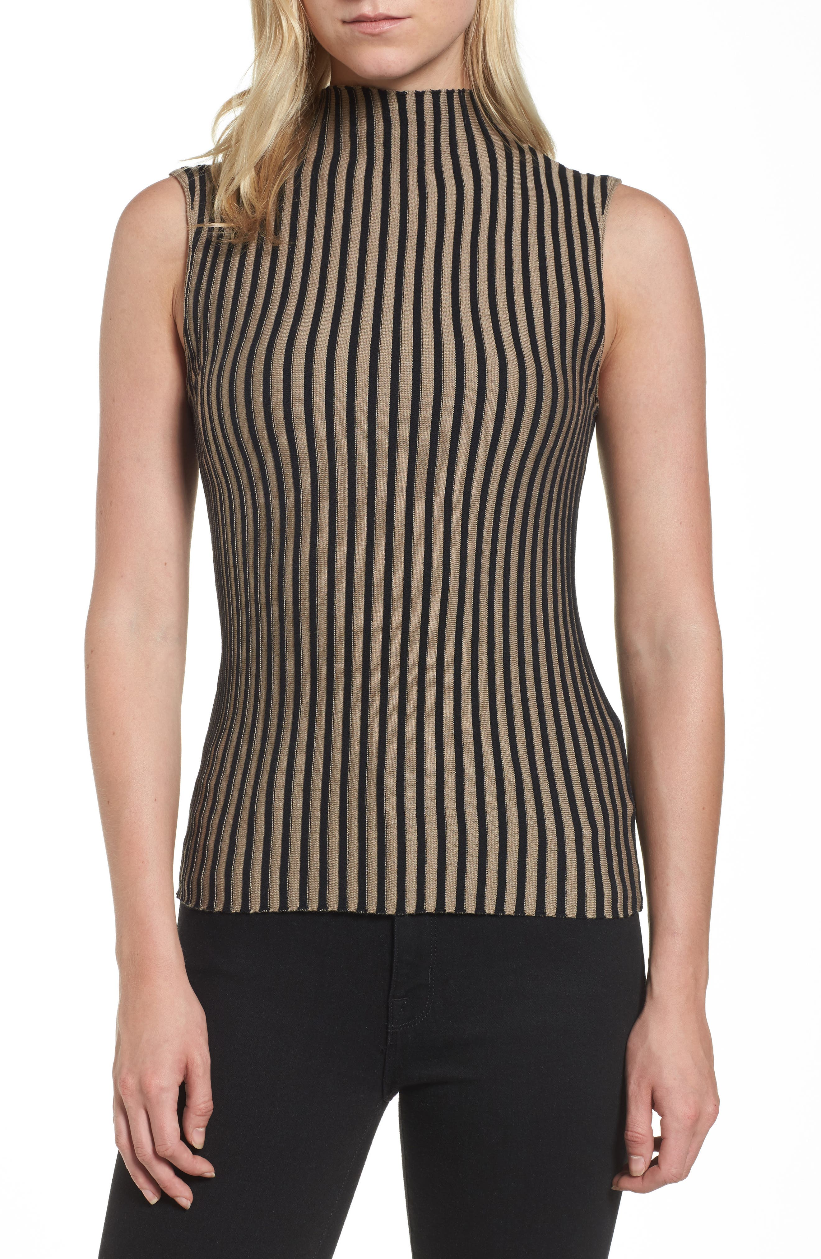 Stripe Sweater,                         Main,                         color, 010