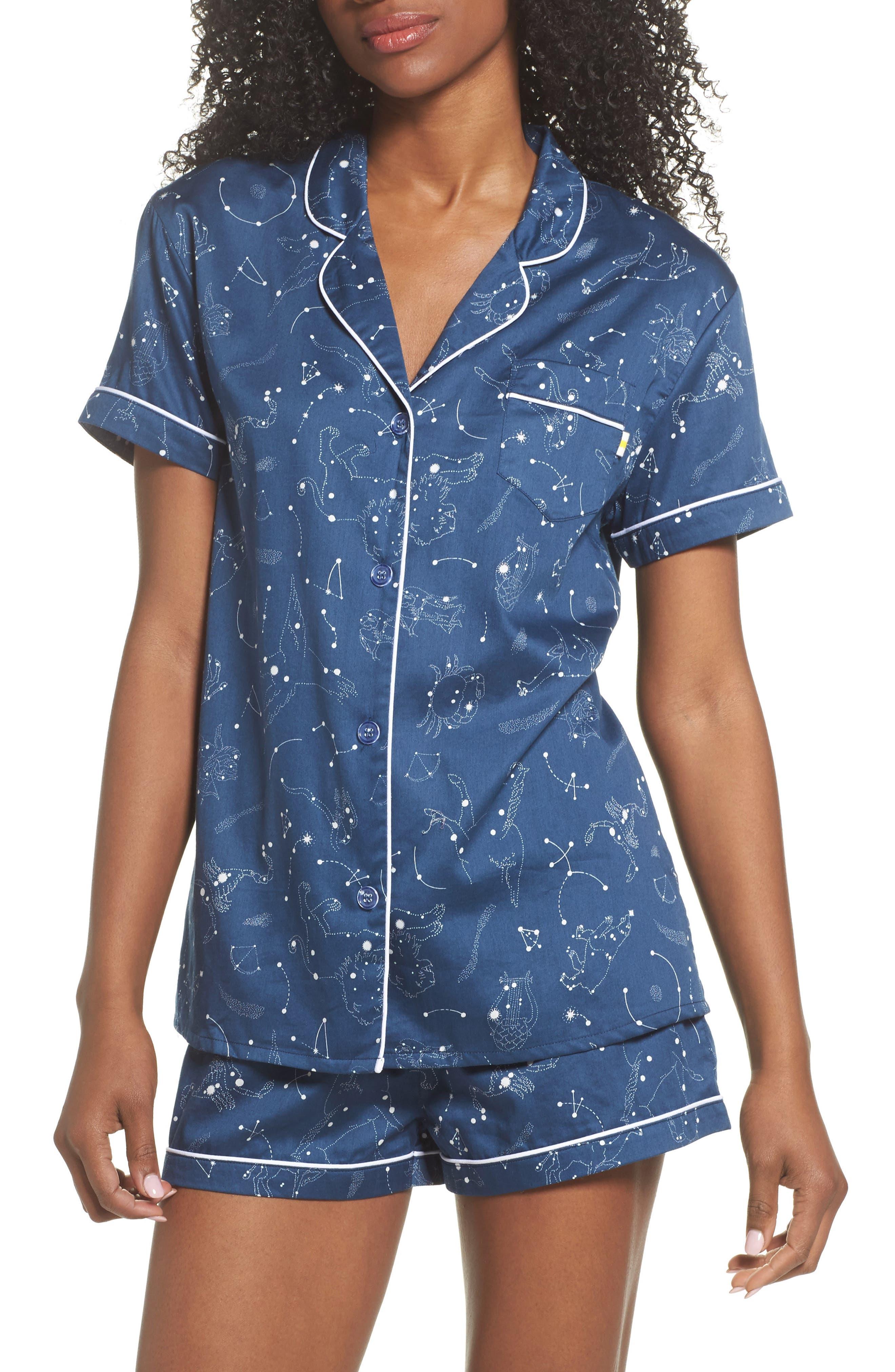 Joni Short Pajamas,                             Main thumbnail 1, color,                             403