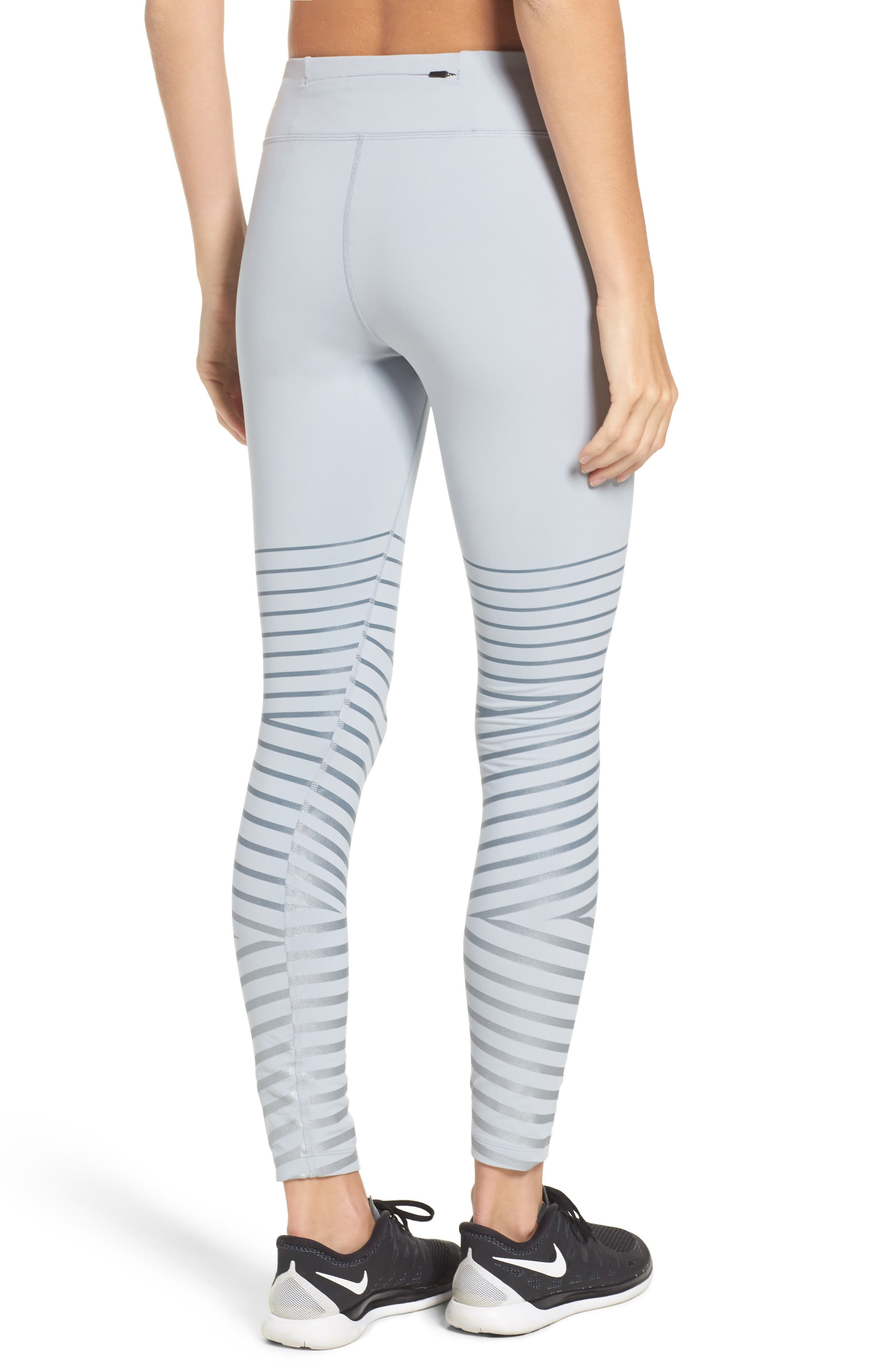 Power Epic Lux Flash Running Tights,                             Alternate thumbnail 7, color,