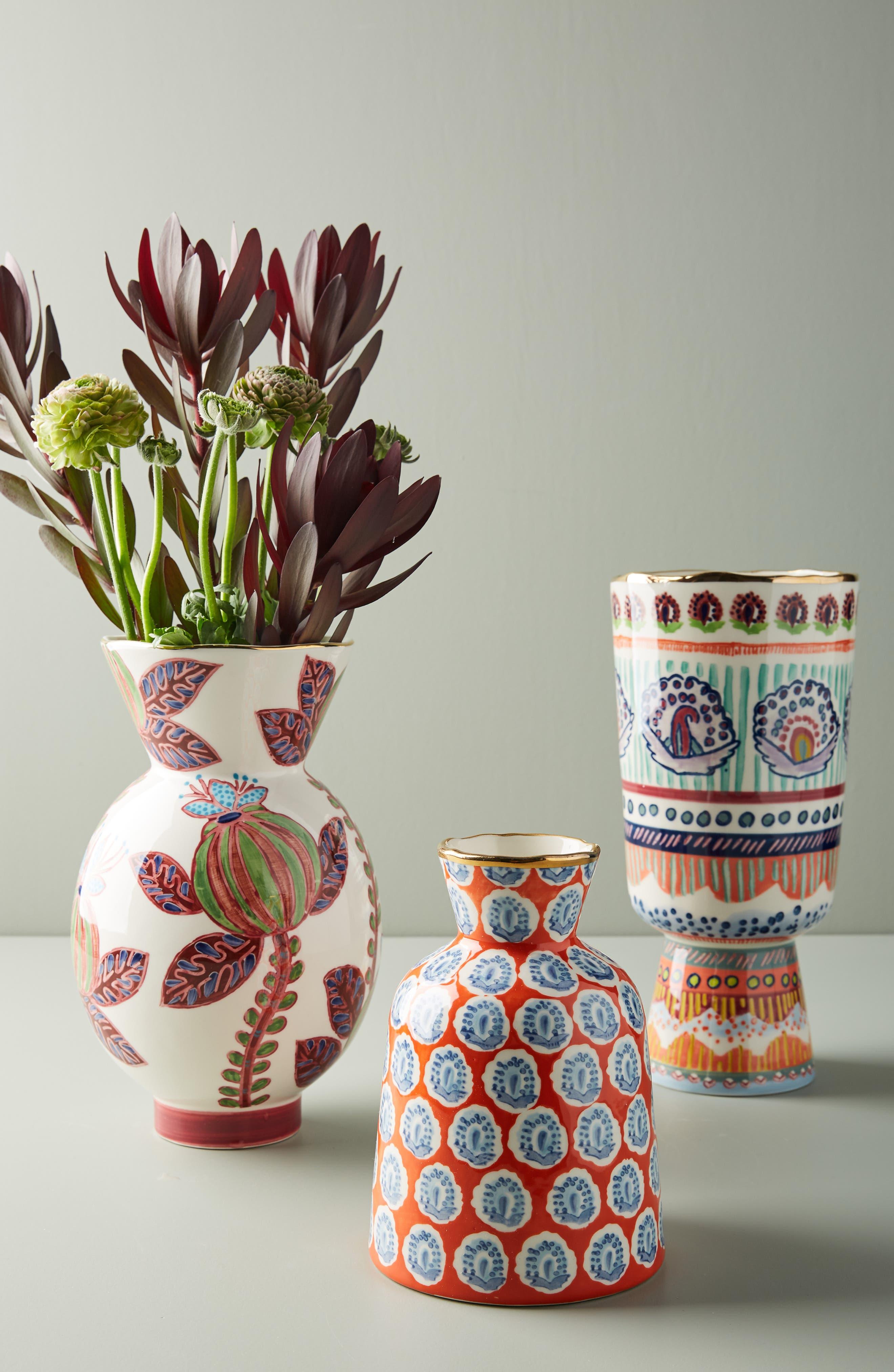 ANTHROPOLOGIE,                             Small Elsa Vase,                             Alternate thumbnail 3, color,                             WARM