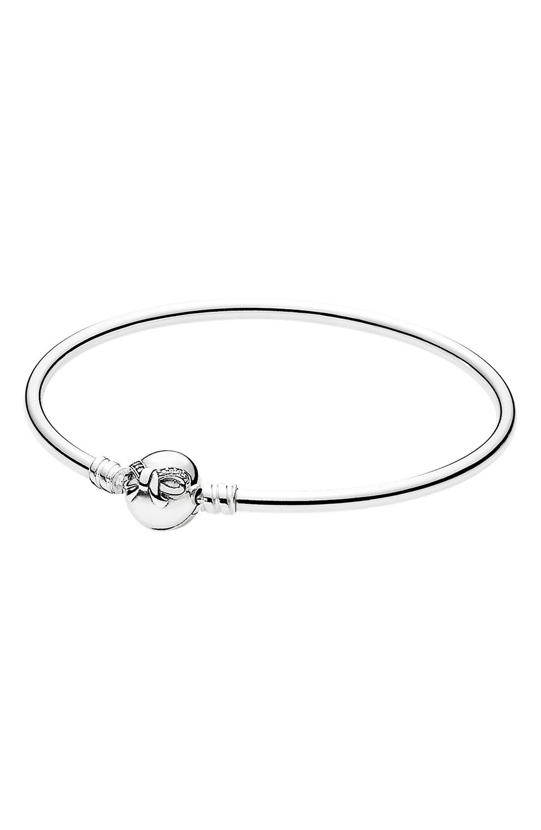 'Dainty Bow' Bangle, Main, color, 040